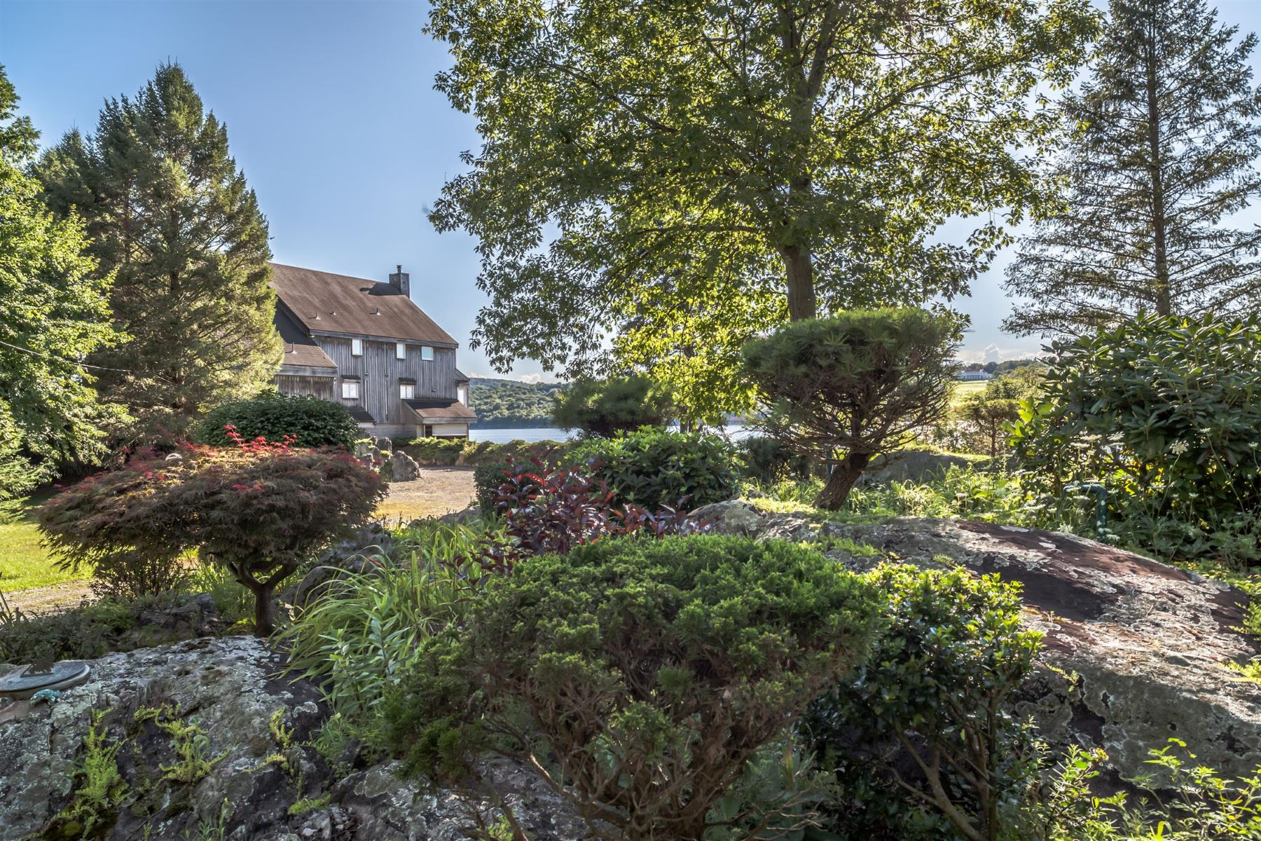 Single Family Home for Sale at Bolles Island on the Hudson River 16 Poppinga Lane Hyde Park, New York 12538 United States