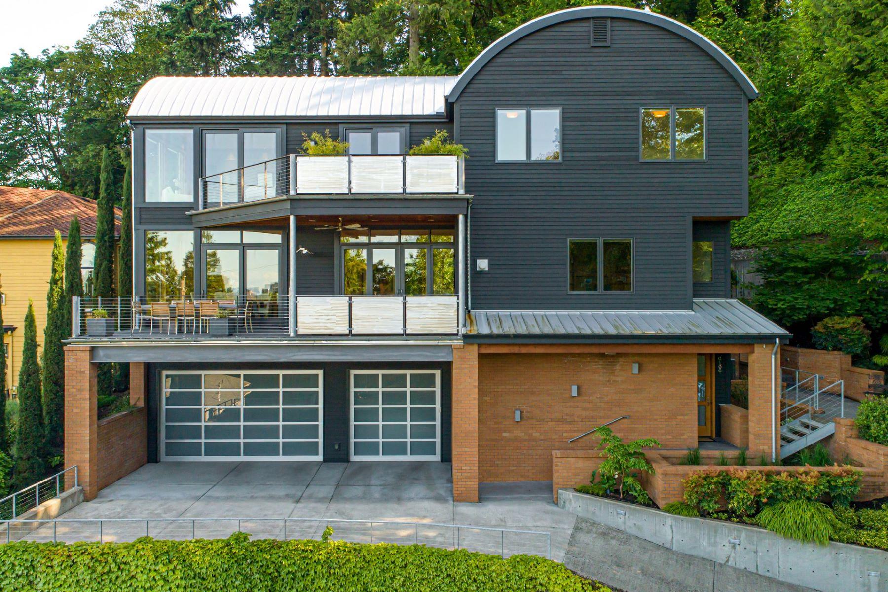 Single Family Homes pour l Vente à 100 SW Vermont St, Portland, Oregon 97219 États-Unis