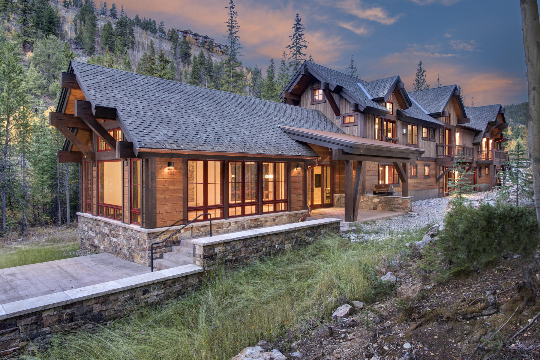 Single Family Home for Active at In Town Mountain Modern Masterpiece 1003 Boreas Pass Road Breckenridge, Colorado 80424 United States