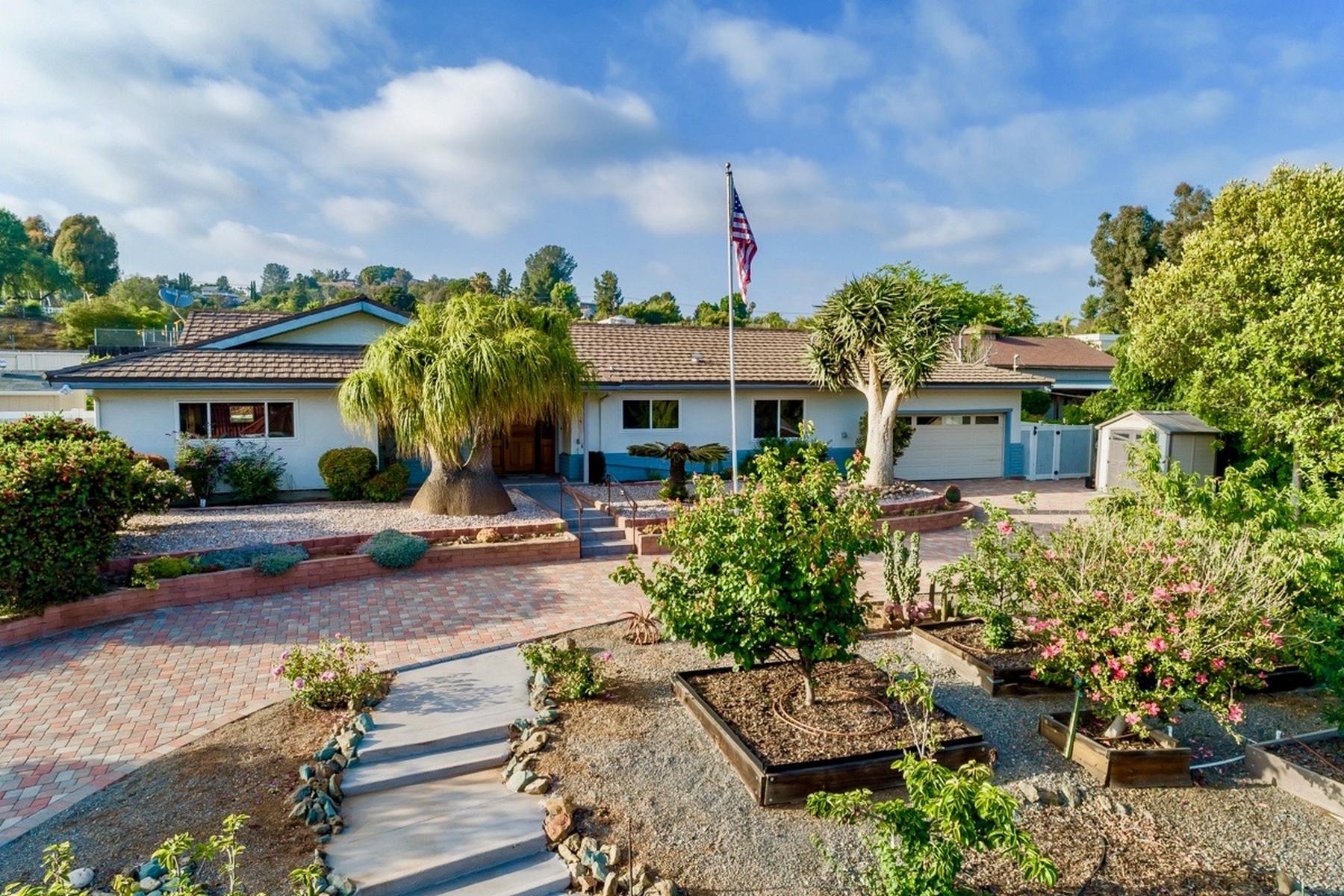 Single Family Homes for Sale at 11472 Fuerte Farms Rd El Cajon, California 92020 United States