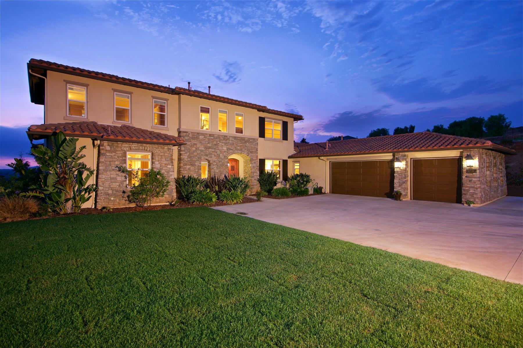 단독 가정 주택 용 매매 에 1210 Clos Duval Bonsall, 캘리포니아 92003 미국