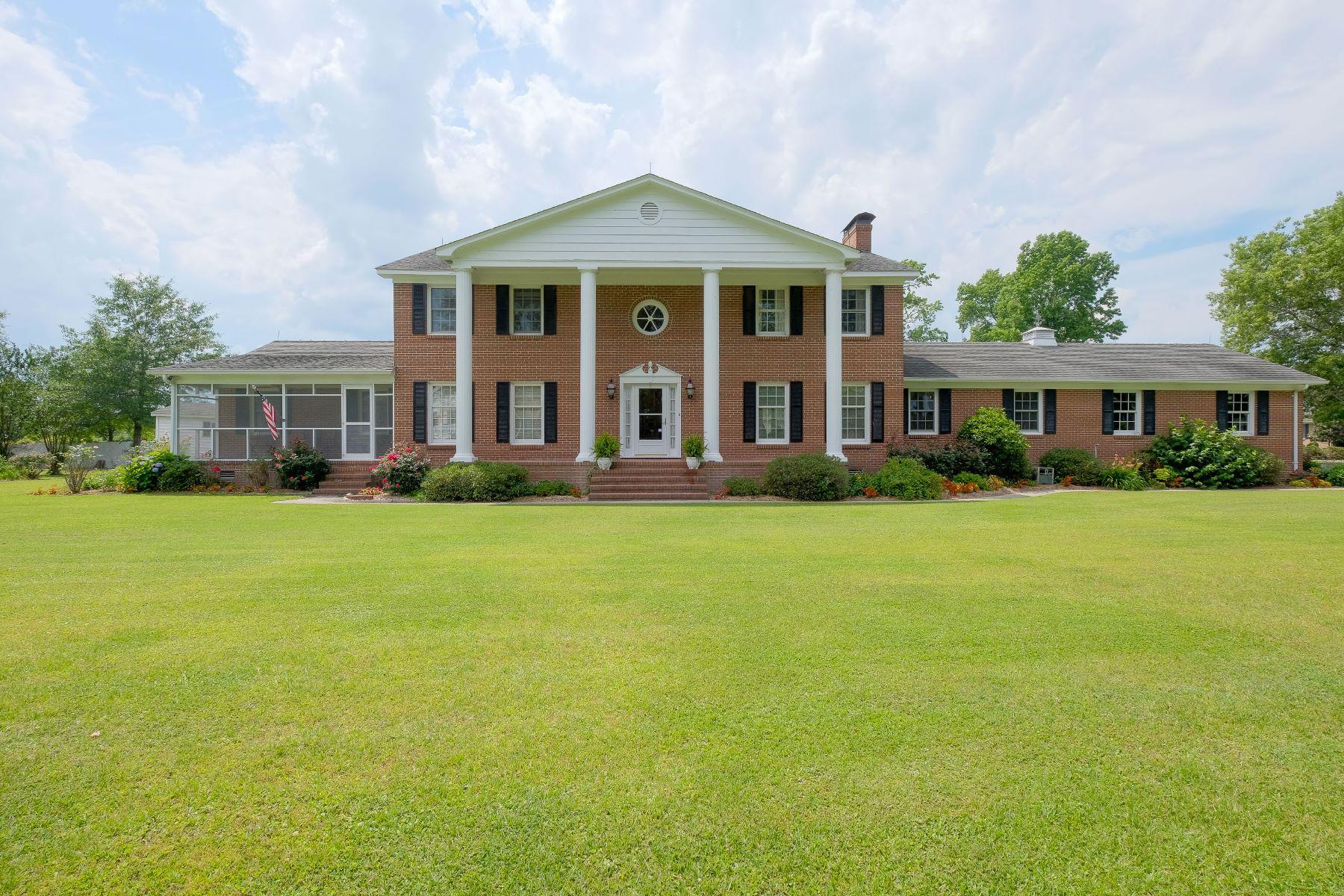 独户住宅 为 销售 在 IN-TOWN WATERFRONT 301 Queen Anne Dr, 登顿, 北卡罗来纳州, 27932 美国