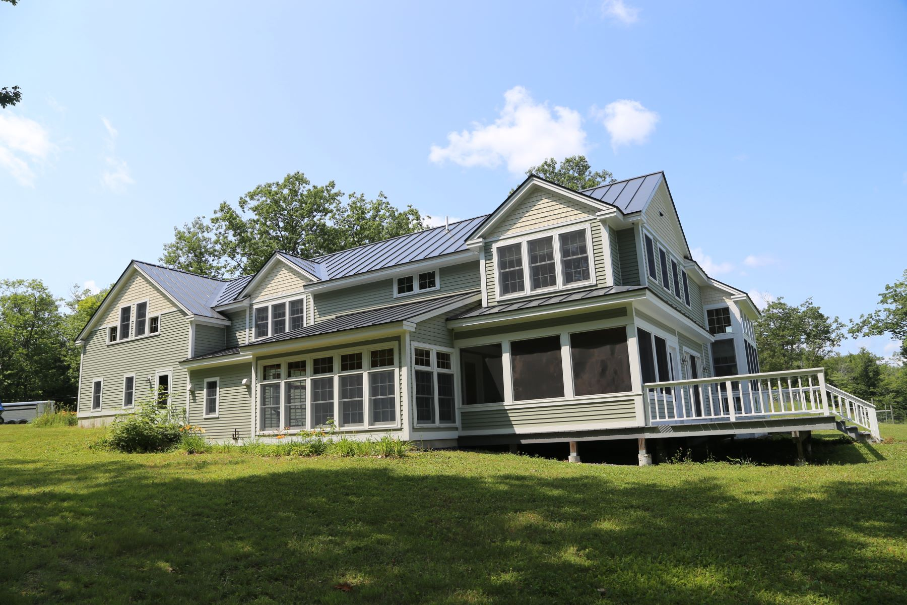 Single Family Homes for Sale at Lovely Farm Property 105 Oak Hill Rd Enfield, New Hampshire 03748 United States