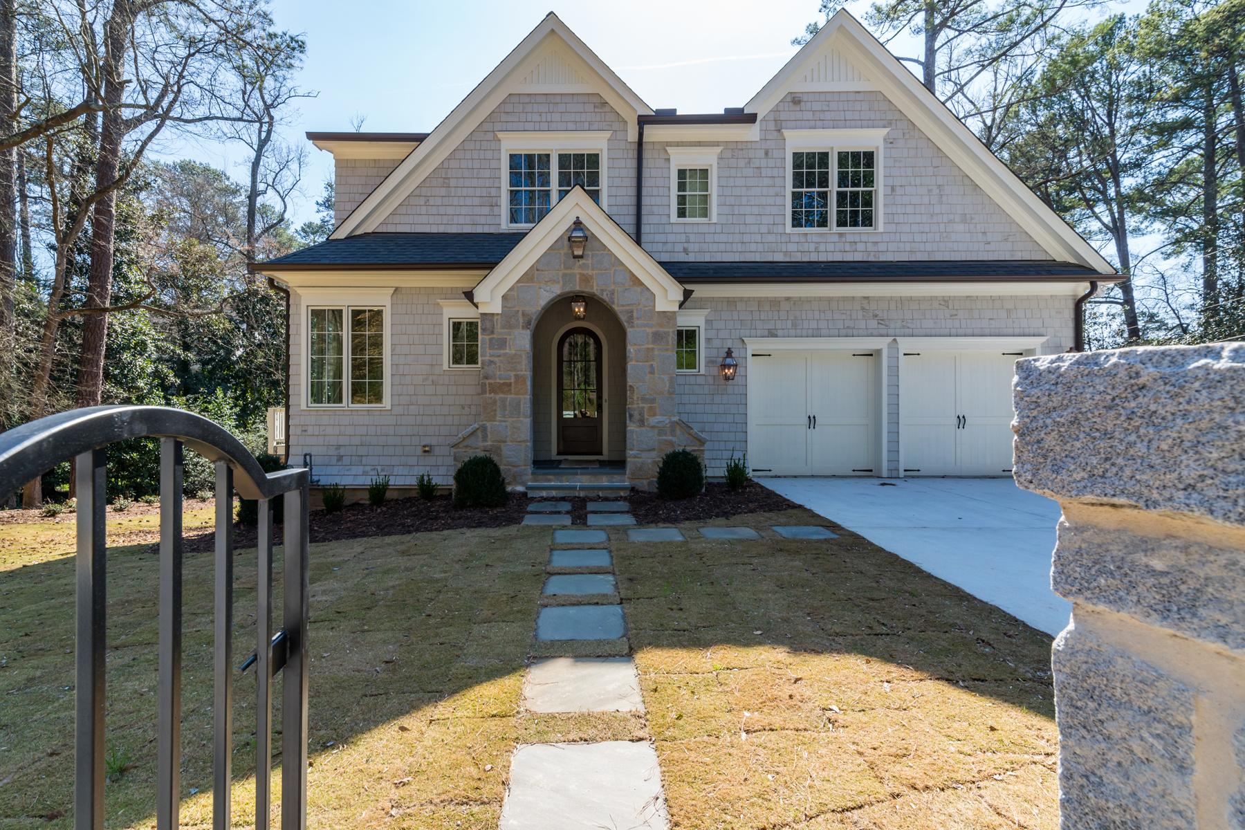 Tek Ailelik Ev için Satış at New Classic On Peachtree Battle 650 Peachtree Battle Avenue Buckhead, Atlanta, Georgia, 30327 Amerika Birleşik Devletleri