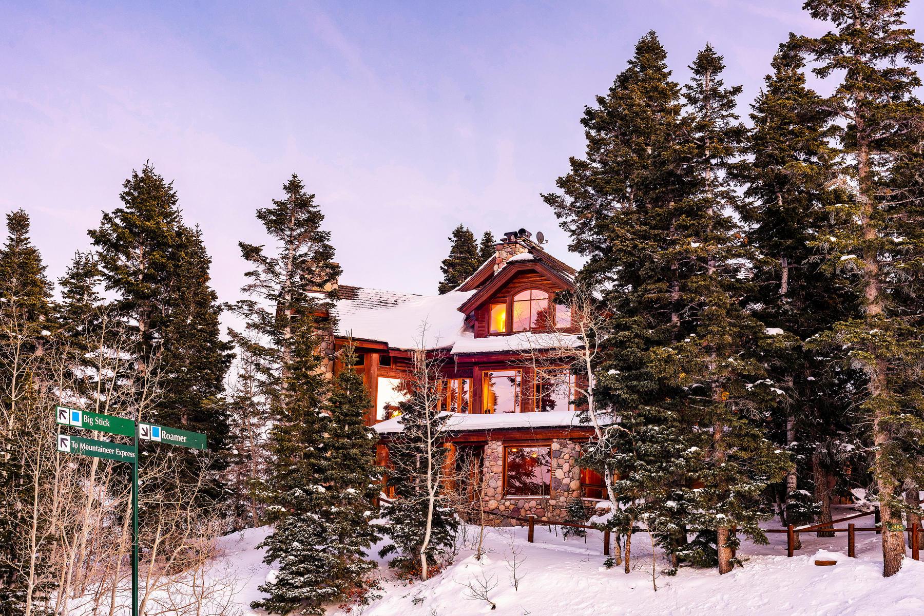 Single Family Homes por un Venta en Gated Ski Estate Located Slope-side at Deer Valley Resort 7885 Bald Eagle Dr Park City, Utah 84060 Estados Unidos