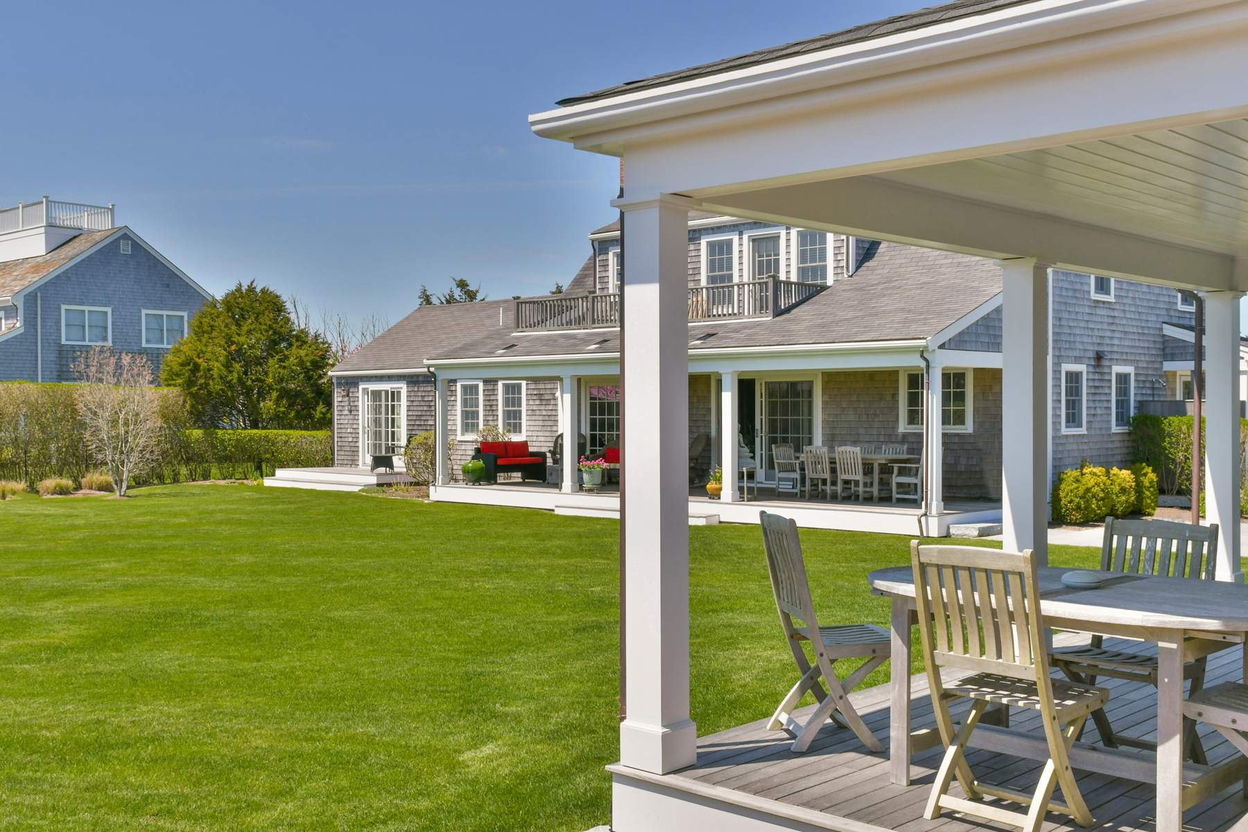 Single Family Homes for Active at Private Haven - Two Home Compound 4 Plainfield Road Siasconset, Massachusetts 02584 United States