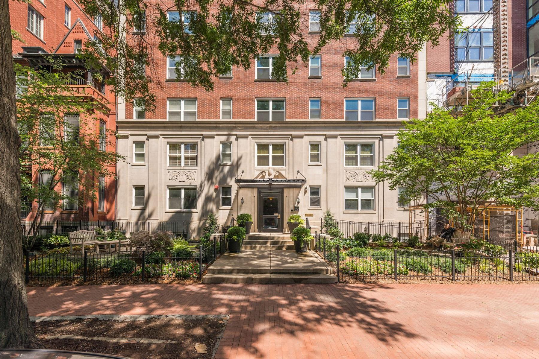 共管式独立产权公寓 为 销售 在 1437 Rhode Island Avenue Nw 104, Washington 华盛顿市, 哥伦比亚特区, 20005 美国
