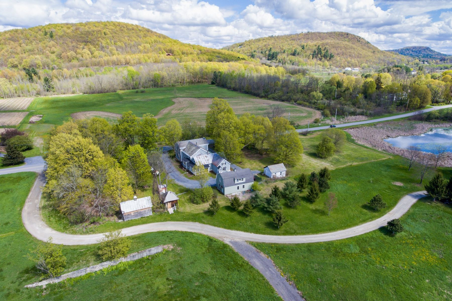 Single Family Homes for Sale at Renovated Charlotte Village with Adirondack Views 2346 Greenbush Road Charlotte, Vermont 05445 United States