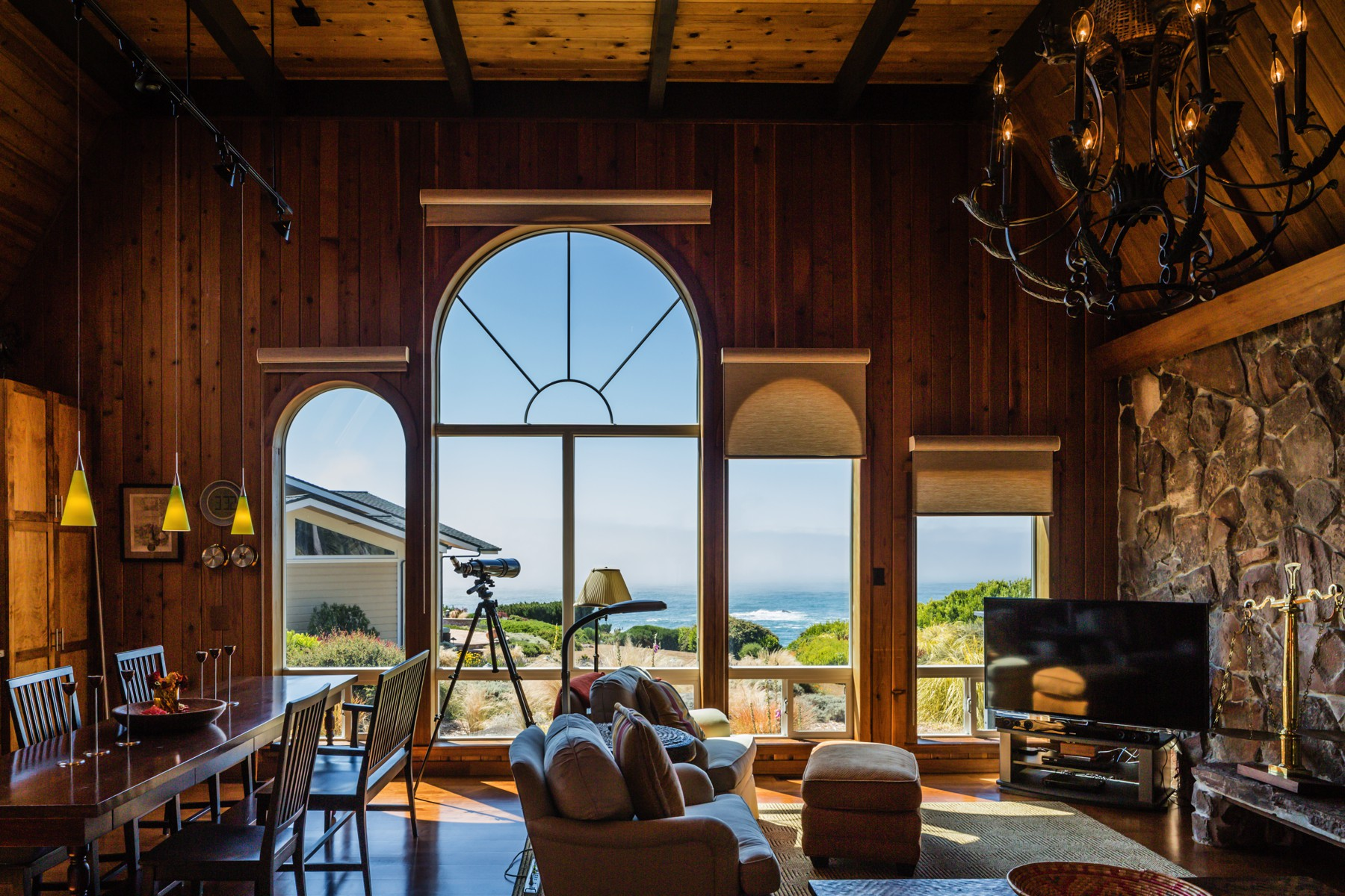 Single Family Home for Sale at Iconic Coastal Views 10921 Palette Drive Mendocino, California 94560 United States
