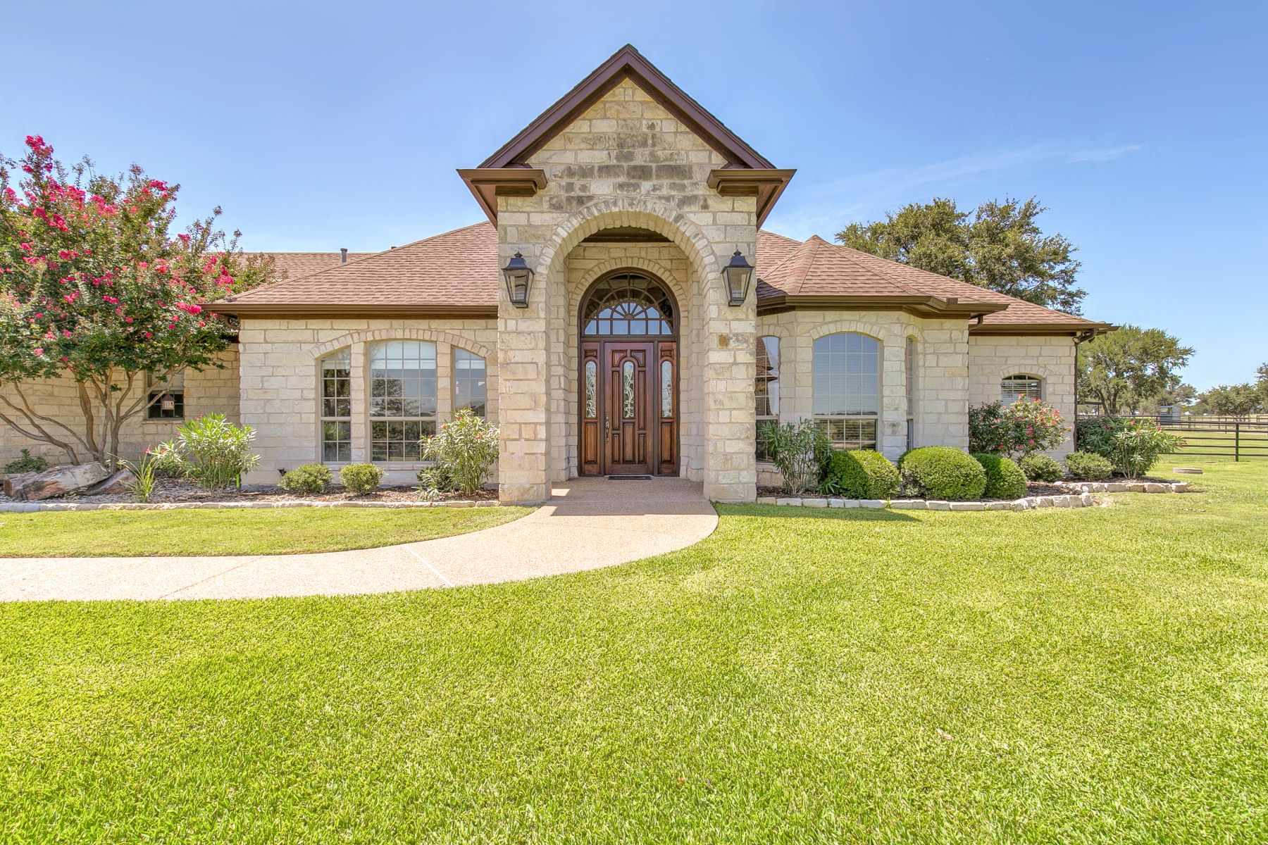 Farm / Ranch / Plantation for Sale at Located on 12.46 acres this immaculate 2 story home 1211 Cactus Rio Drive Weatherford, Texas 76087 United States