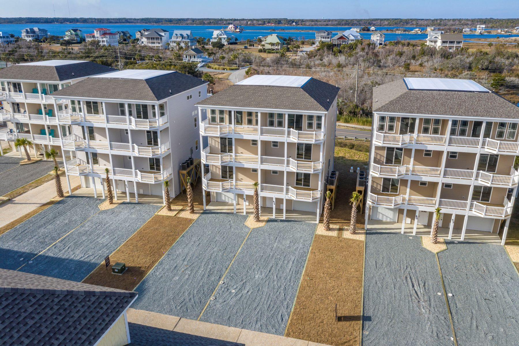 townhouses for Active at Villa on Topsail Island 832 Villas Drive N Topsail Beach, North Carolina 28460 United States