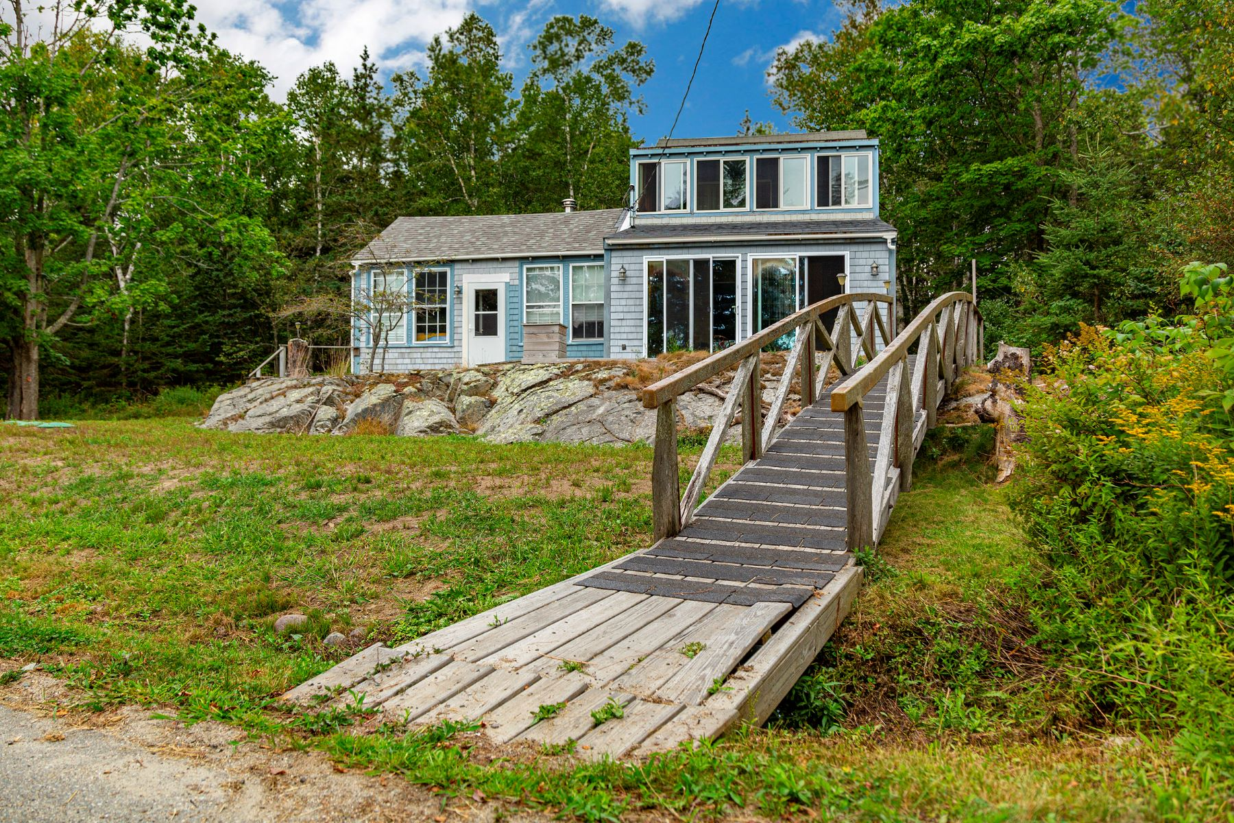 Single Family Homes for Active at On The Rocks 14 Main Street, Islesford Cranberry Isles, Maine 04646 United States