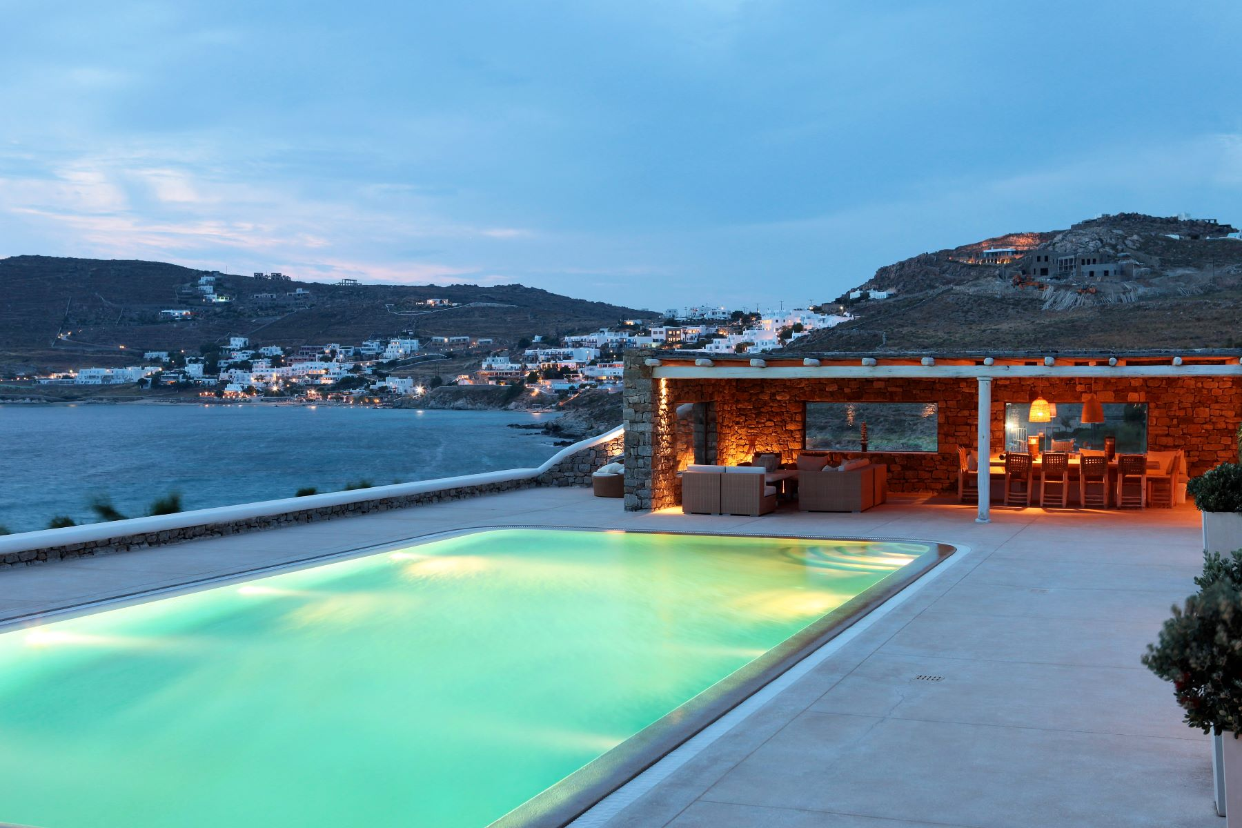 Single Family Home for Sale at Tramonto Mykonos, Southern Aegean, Greece