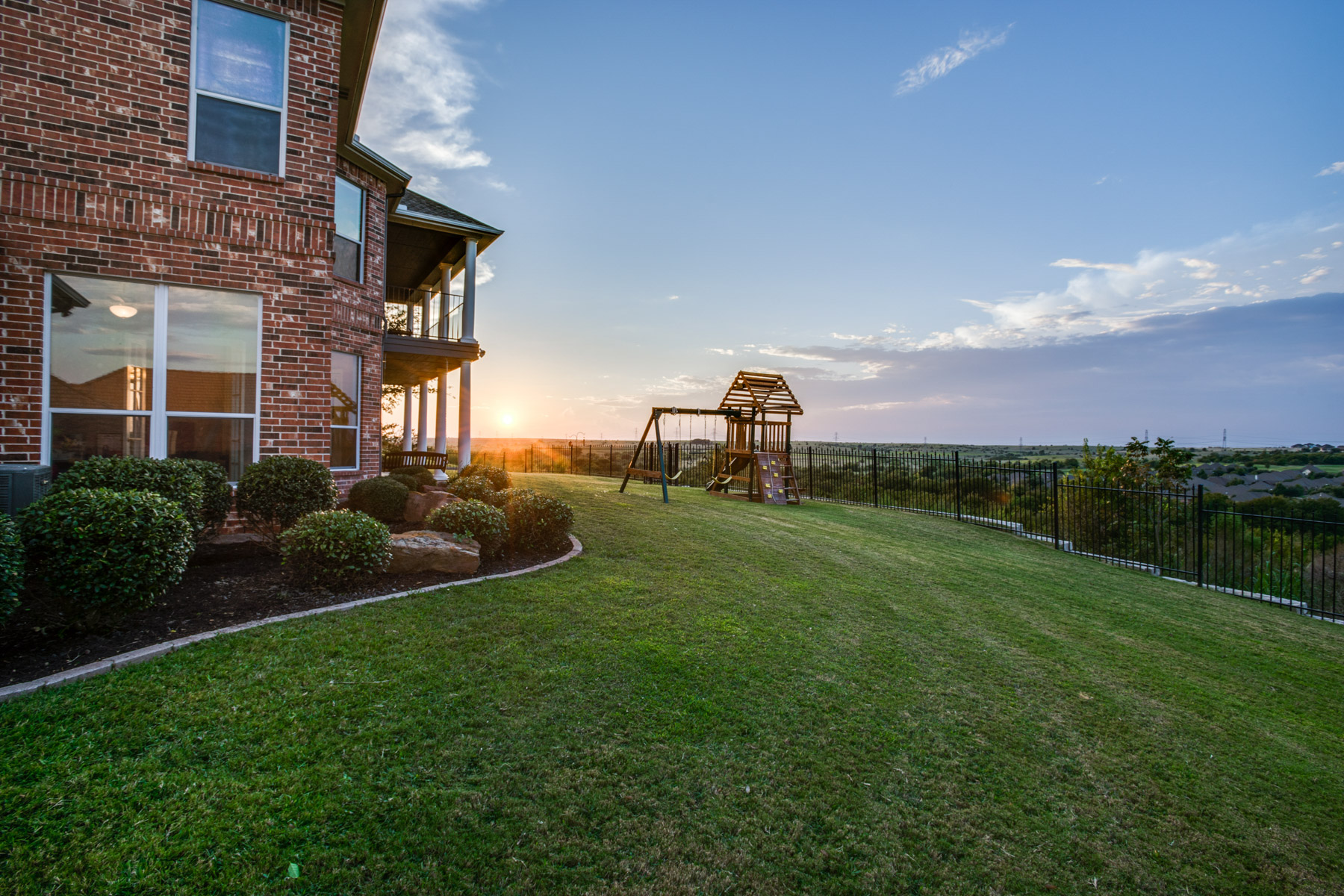 Single Family Home for Sale at Enjoy Breathtaking Sunsets overlooking Whitestone Golf Course 10820 Hawkins Home Blvd. Benbrook, Texas 76126 United States