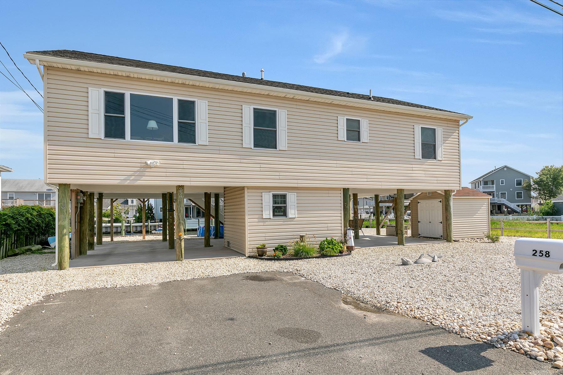 Eensgezinswoning voor Verkoop op Spectacular Bay Views 258 Dogwood Drive, Bayville, New Jersey 08721 Verenigde Staten