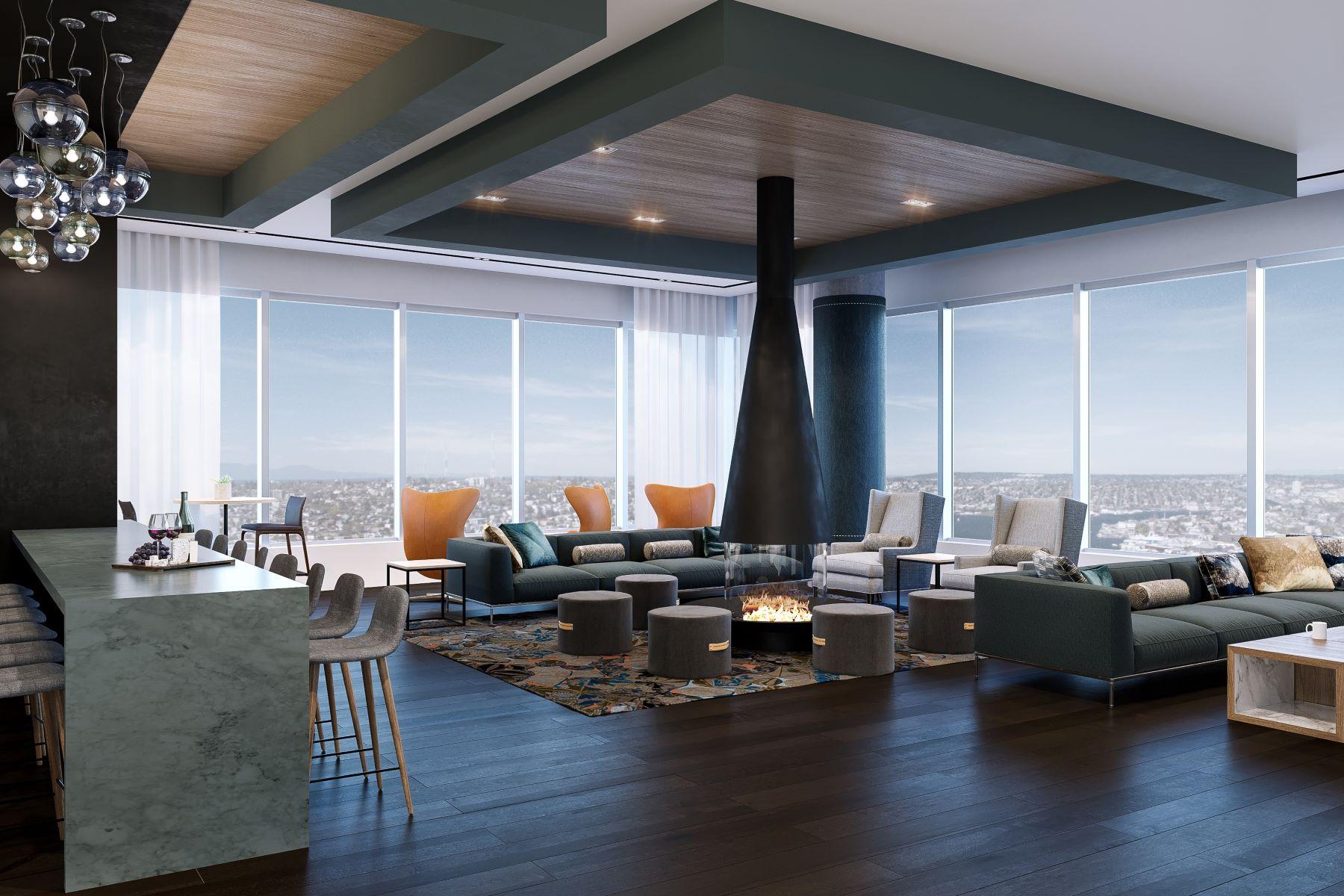 Additional photo for property listing at NEXUS–City Life. Evolved. #2805 1200 Howell Street #2805 Seattle, Washington 98101 Estados Unidos