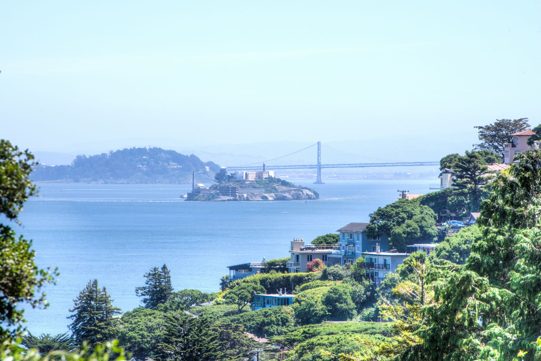 Single Family Home for Sale at Fabulous Newer Construction with Bay Views and Garage 76 Crescent Ave Sausalito, California 94965 United States