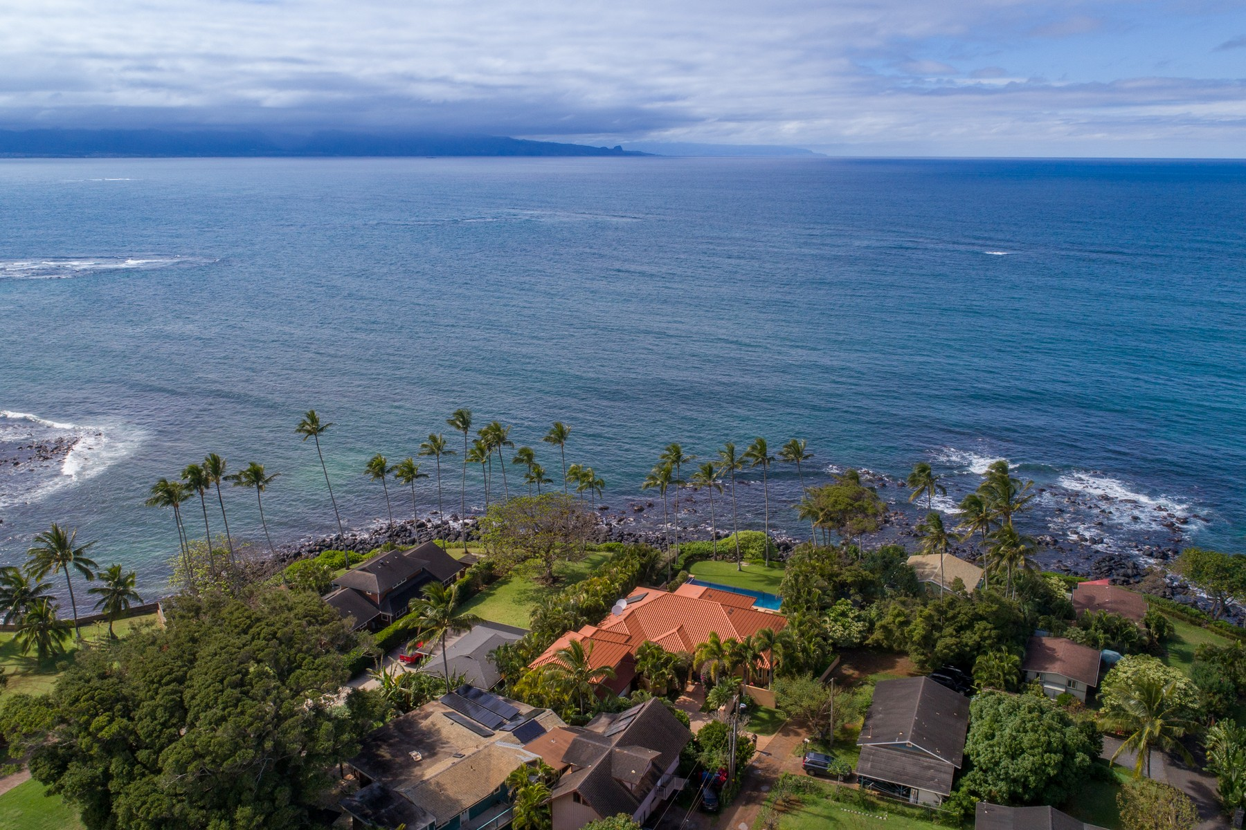 "Single Family Homes for Active at Maui's North Shore... Oceanfront Residence ""An Island Within an Island"" 21 Kaulua Place Paia, Hawaii 96779 United States"