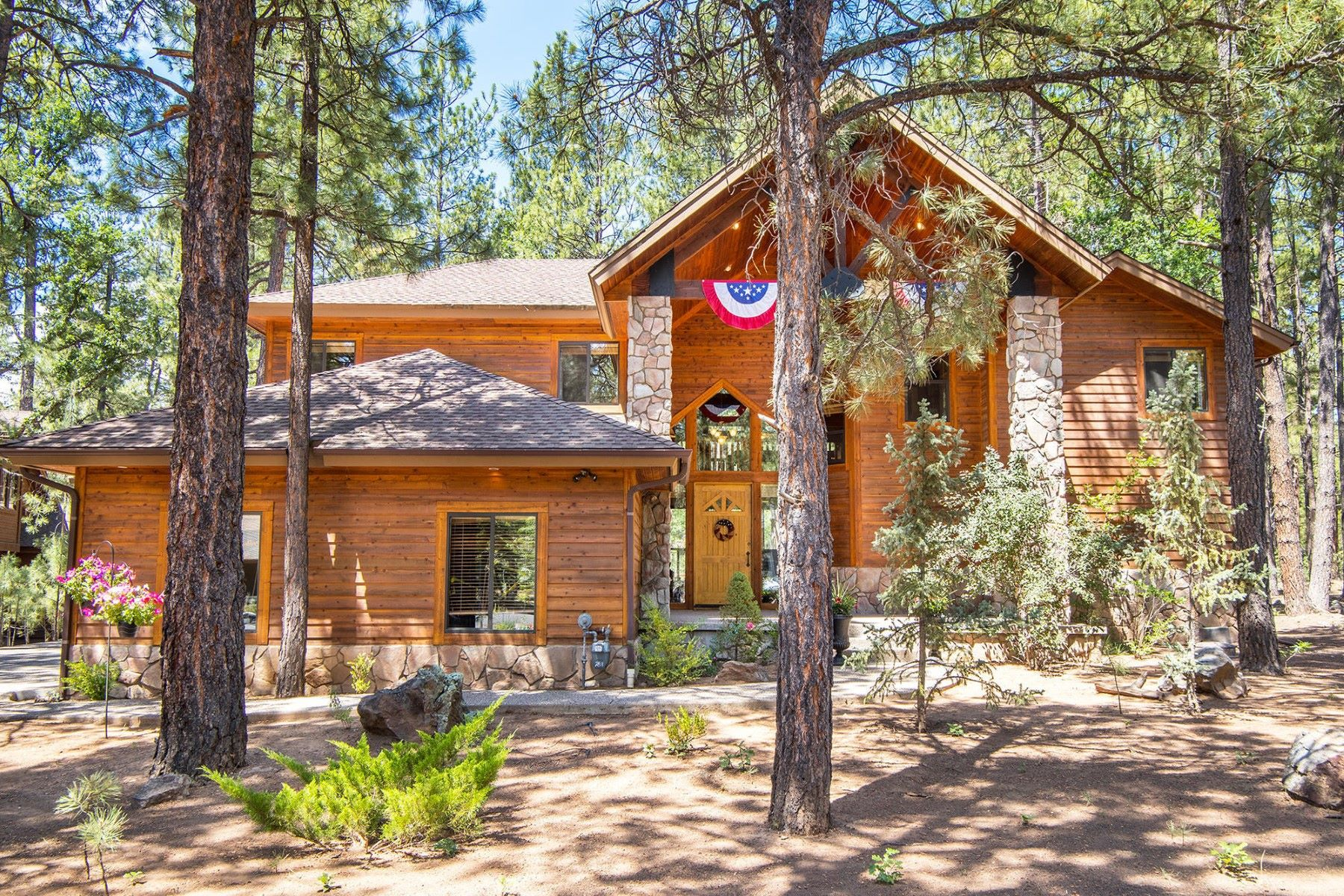 Single Family Homes for Active at Remarkable Private Forest Sanctuary 2811 Lindberg Springs Flagstaff, Arizona 86005 United States