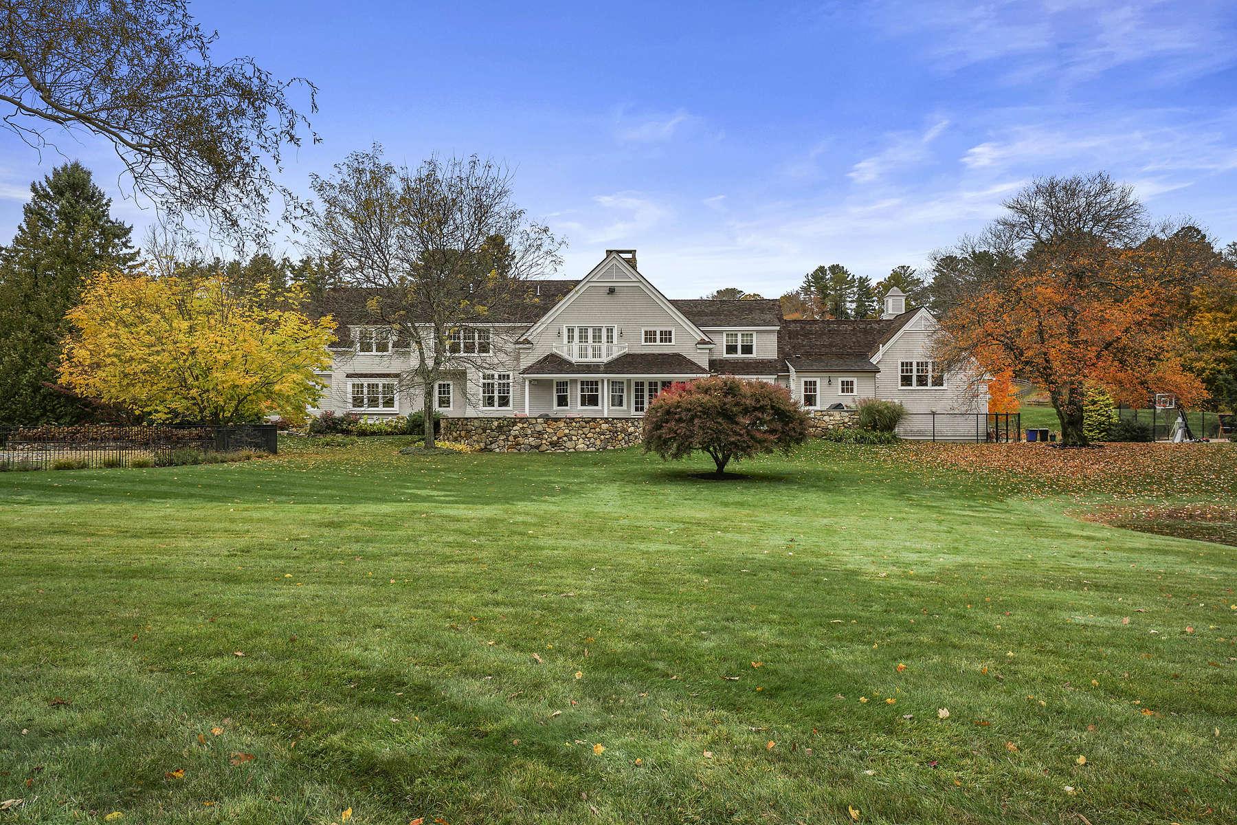 Single Family Homes for Sale at Outstanding Hamilton Estate 35 miles River Road, Hamilton, Massachusetts 01982 United States