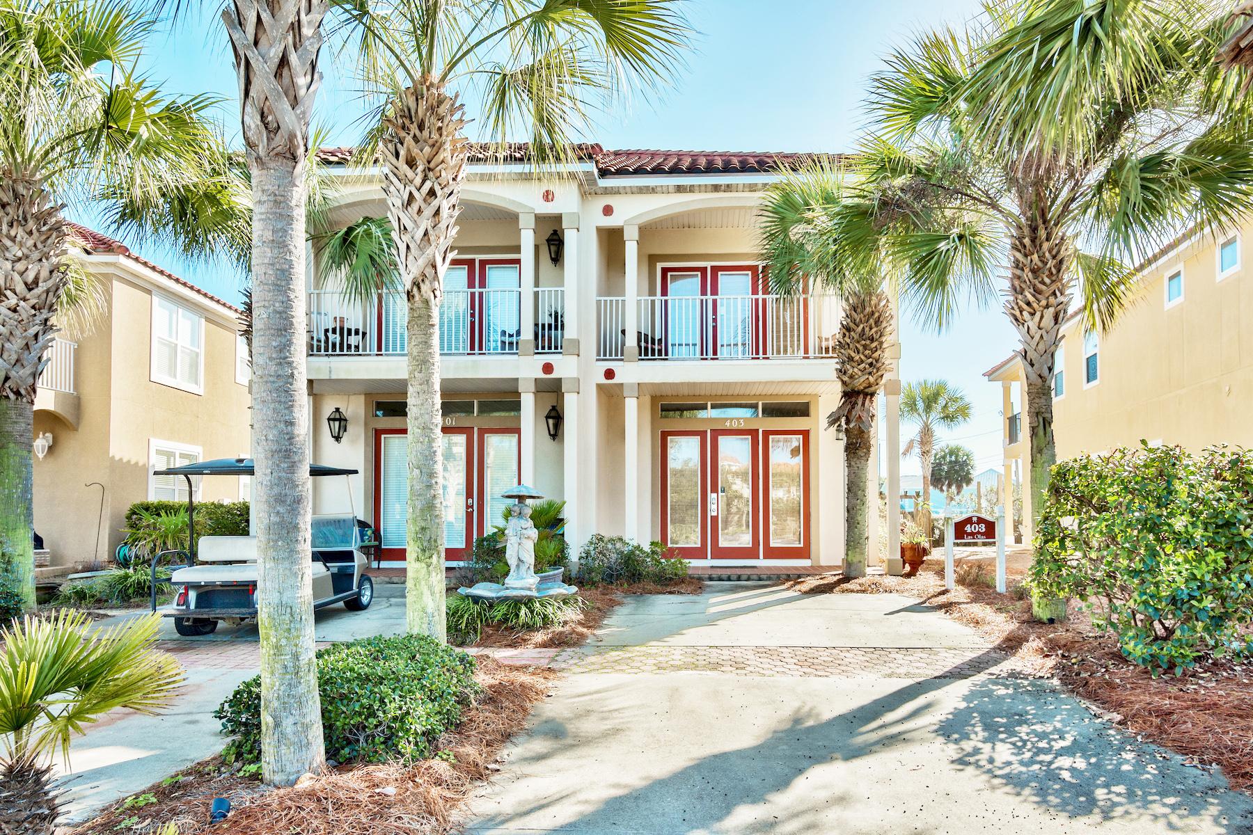 独户住宅 为 销售 在 Turnkey Rental Machine with Amenities 403 La Valencia Circle, La Valencia Beach Resort, 巴拿马城海滩, 佛罗里达州, 32413 美国