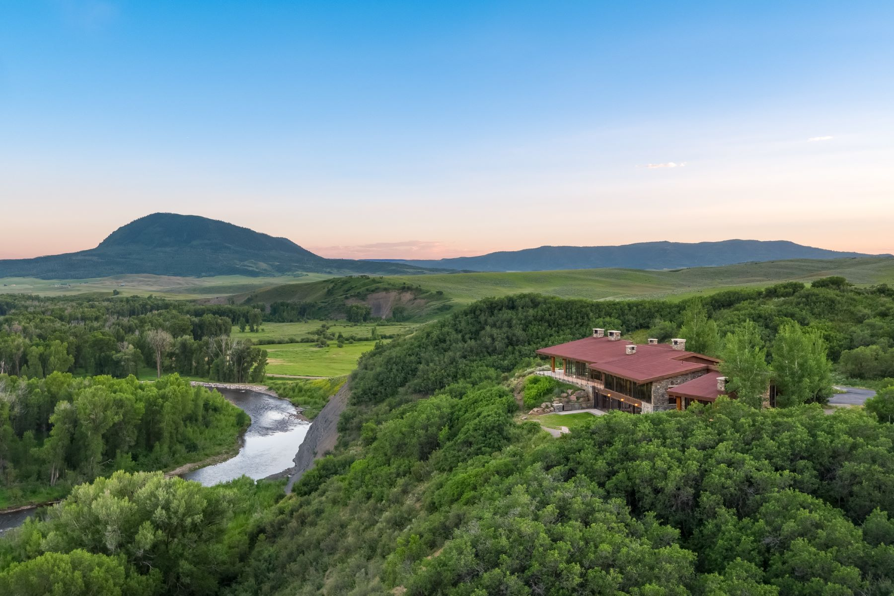 Farm / Ranch / Plantation for Active at Sky River Ranch 24620 County Road 54 Steamboat Springs, Colorado 80487 United States