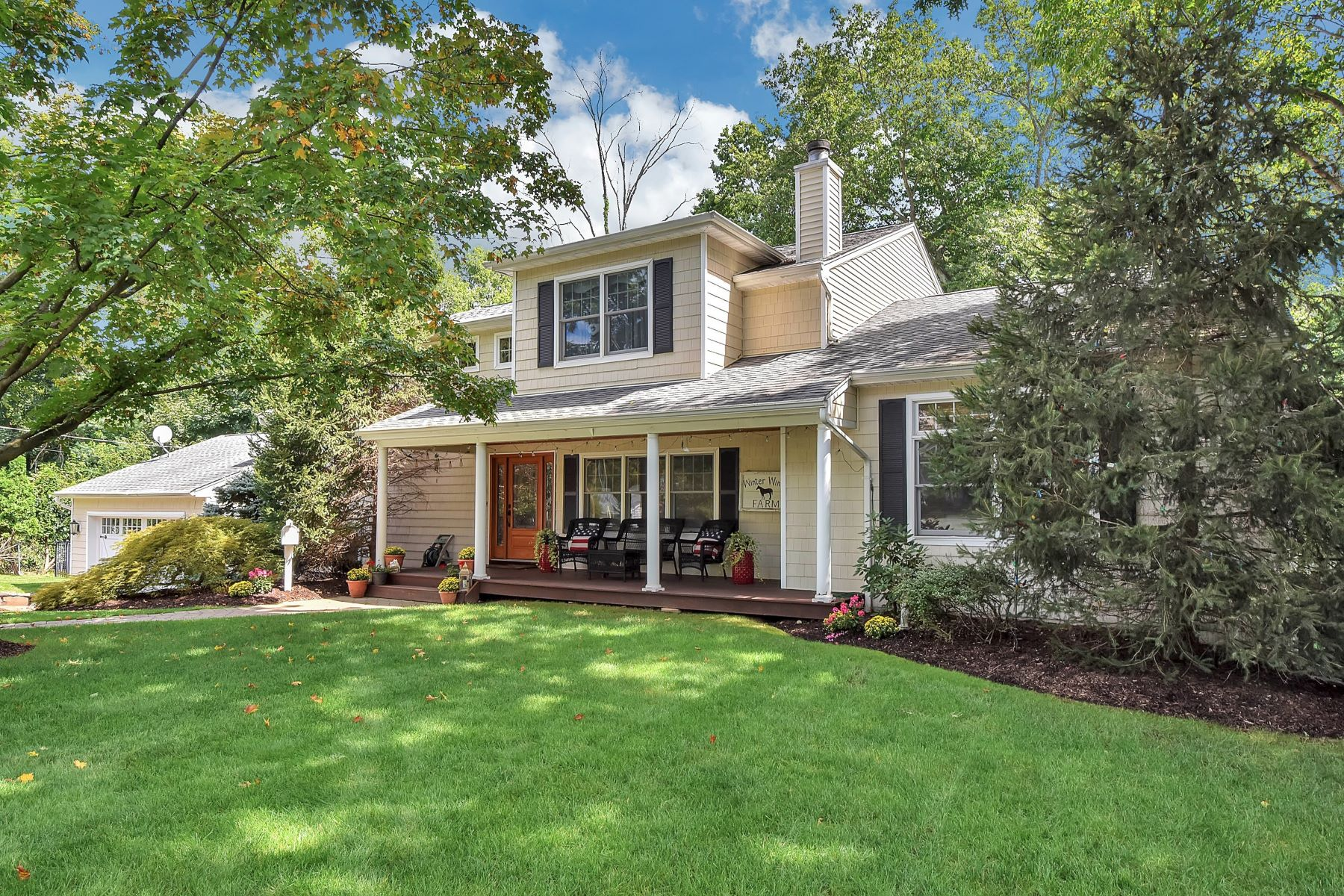 Single Family Home for Sale at Expanded and Renovated 44 Walter Ct, Harrington Park, New Jersey 07640 United States