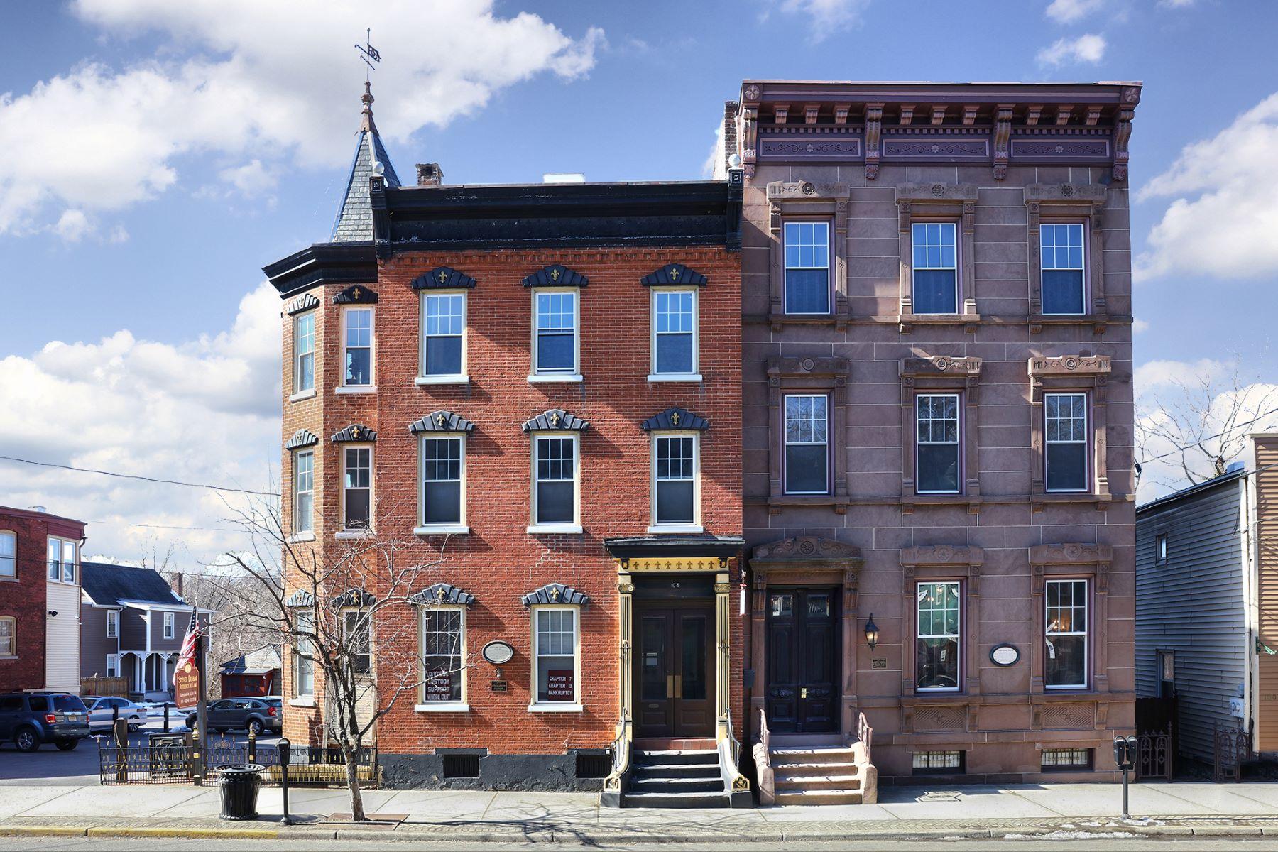 Casa Unifamiliar por un Venta en The Stewart Mansion 102-104 South Main Street, Phillipsburg, Nueva Jersey 08865 Estados UnidosEn/Alrededor: Phillipsburg