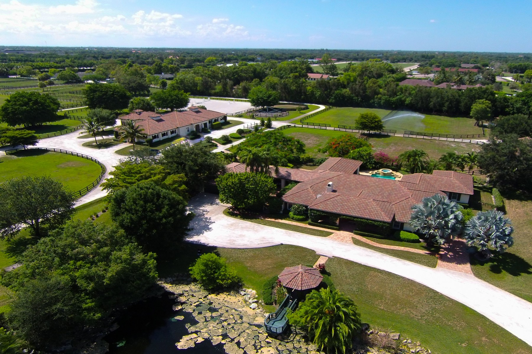 Farm / Ranch / Plantation for Sale at Steeplechase Farm 13281 52nd Place S Wellington, Florida, 33414 United States