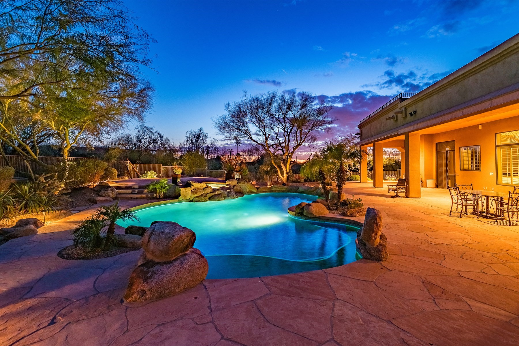 Single Family Home for Sale at Tranquil Oasis With Pinnacle Peak Views in Happy Valley Ranch 8437 E Sulky Circle, Scottsdale, Arizona, 85255 United States