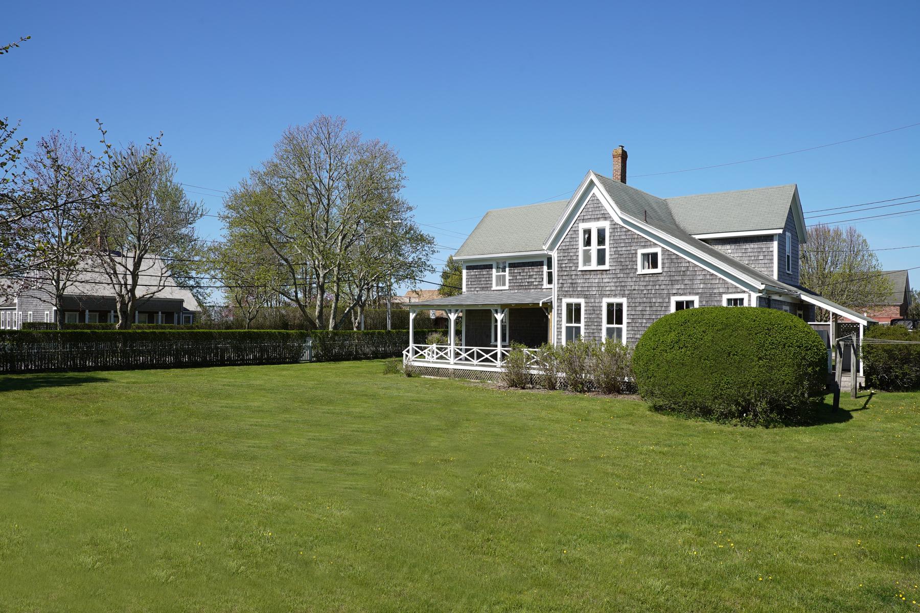 Частный односемейный дом для того Продажа на Top O The Hill 35 MainStreet Siasconset, Массачусетс, 02564 Соединенные Штаты