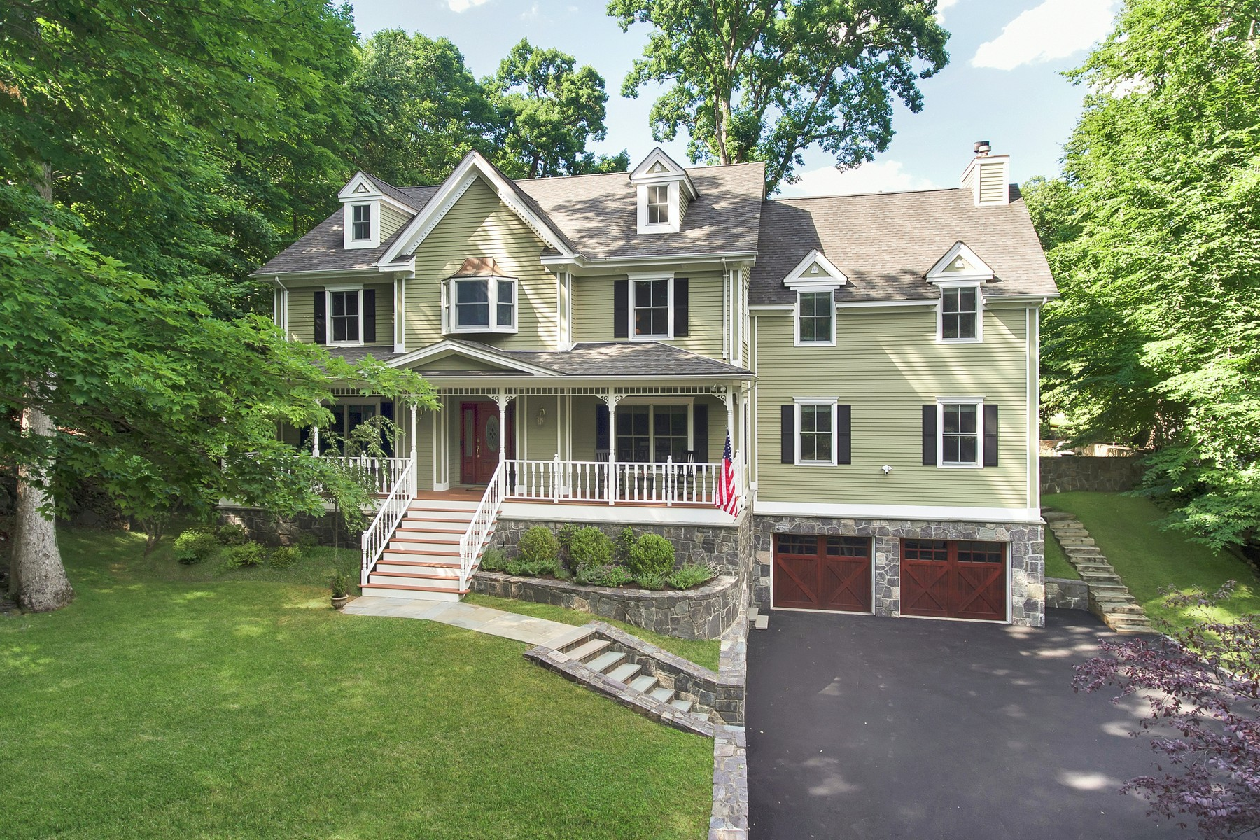 Single Family Homes 為 出售 在 Victorian Inspired 1 Birch Court, Croton On Hudson, 纽约 10520 美國