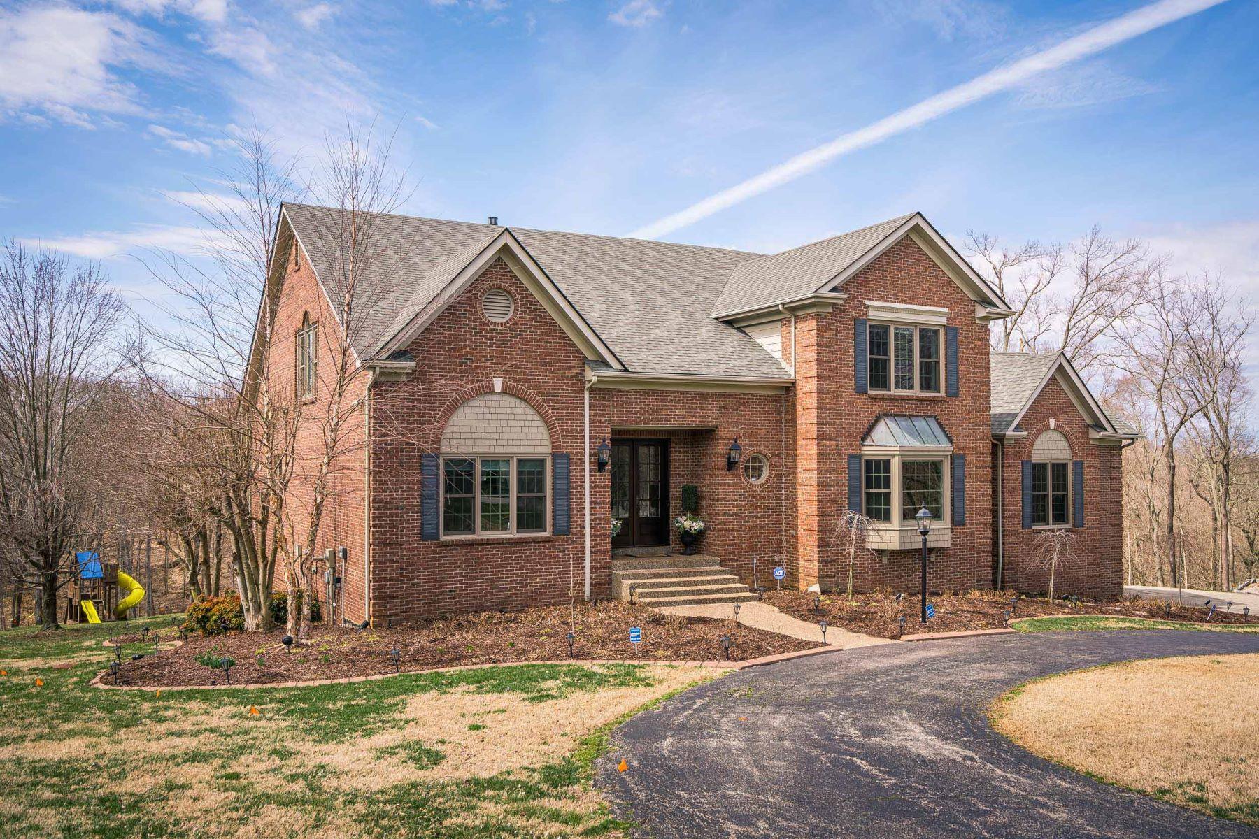 Single Family Homes pour l Vente à 1518 Taylor Creek Court Goshen, Kentucky 40026 États-Unis