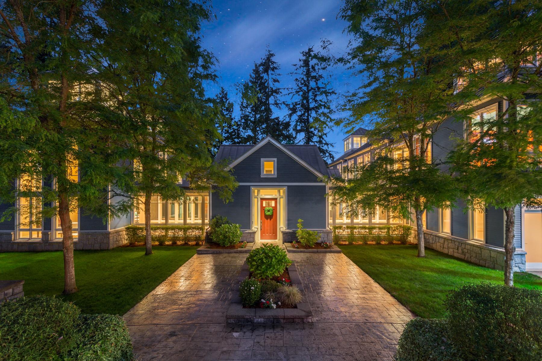 Casa Unifamiliar por un Venta en Sammamish River Estate 7634 NE 170th St Kenmore, Washington 98028 Estados Unidos