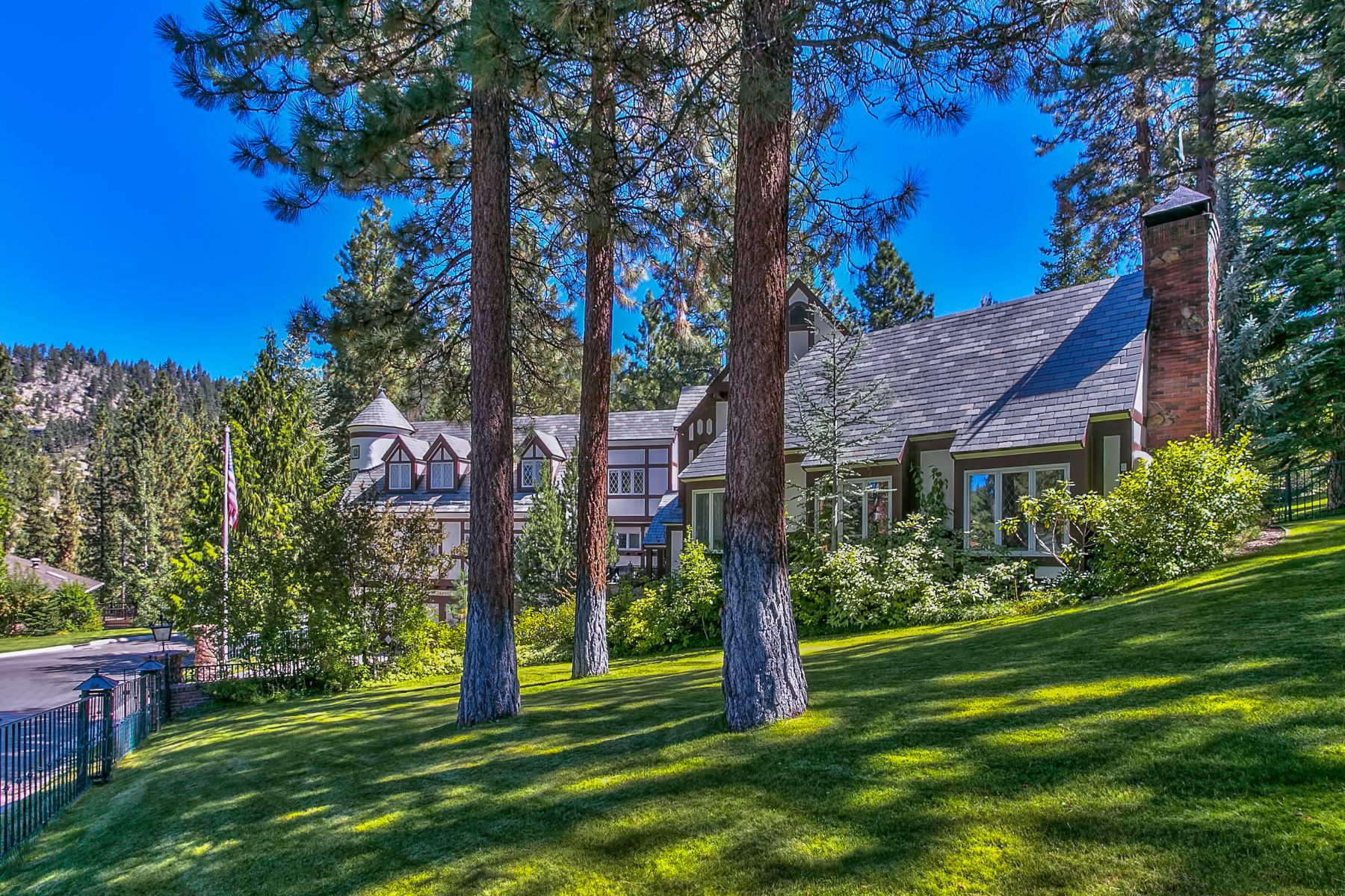 Single Family Homes for Active at Classic Tahoe Tudor 1273 Hidden Woods Drive Glenbrook, Nevada 89413 United States