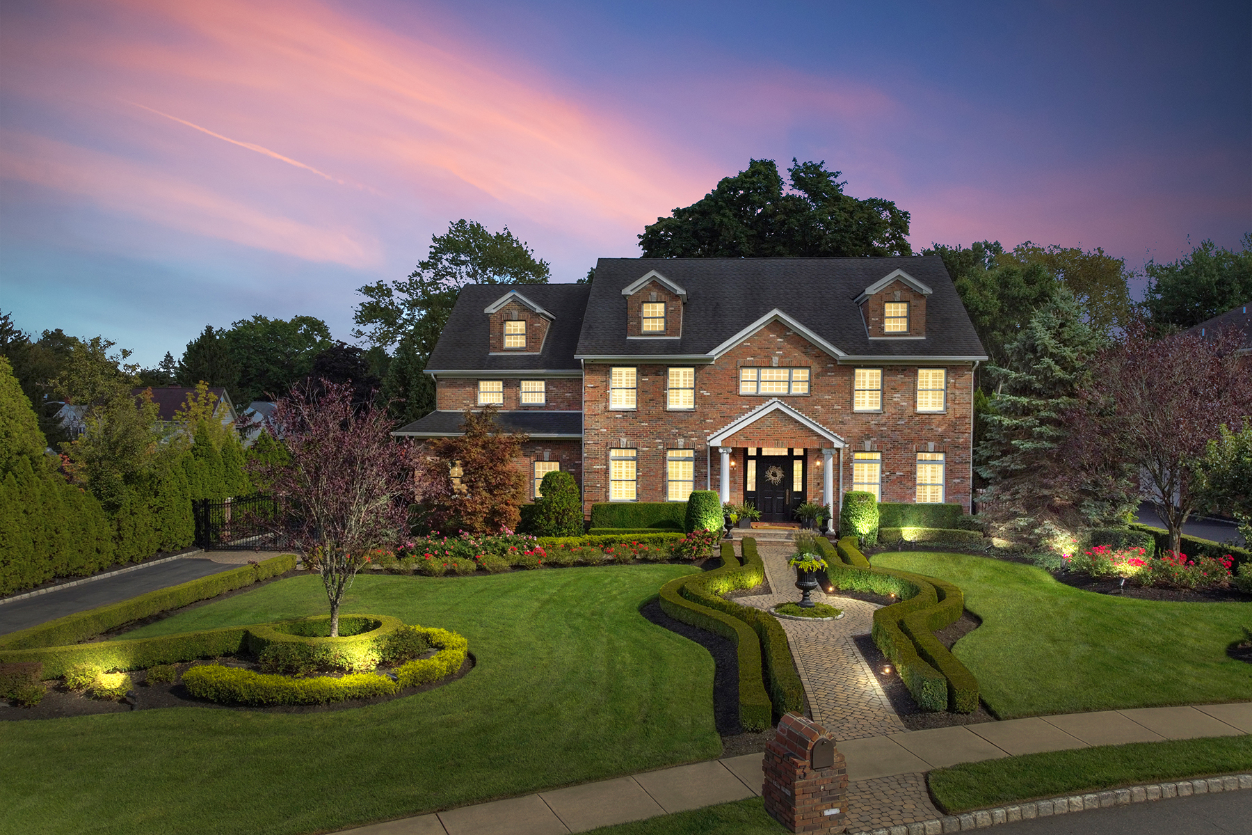 Single Family Homes for Sale at Custom-Built Colonial 3 Francesca Court, East Hanover, New Jersey 07936 United States