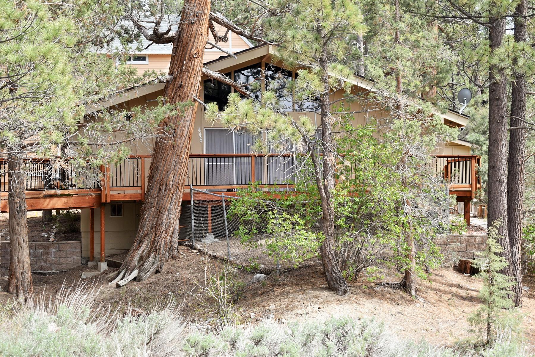 Single Family Homes para Venda às 445 Hillendale Drive Big Bear City, CA 92314 Big Bear City, Califórnia 92314 Estados Unidos