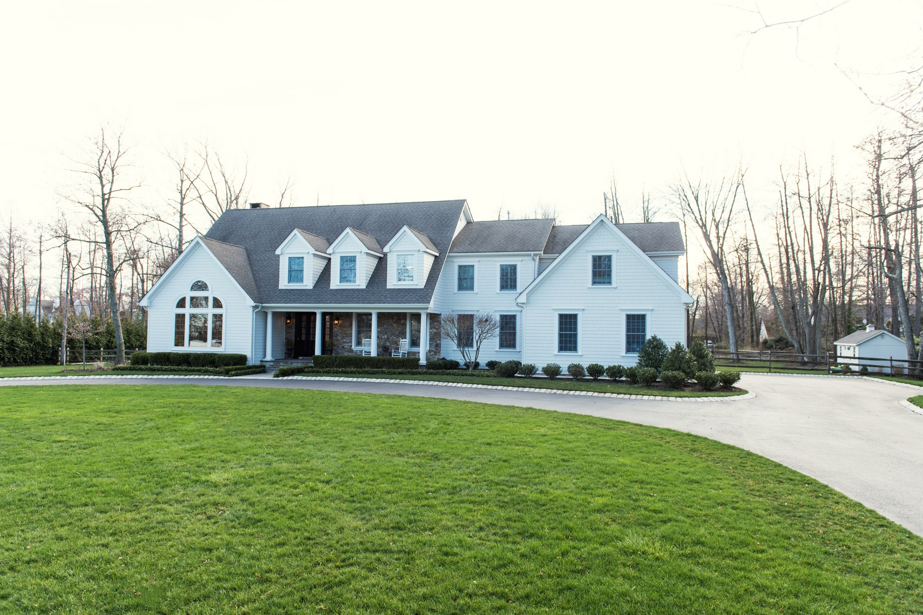 Single Family Home for Sale at Captivating Custom Home 10 Heathcliff Rd Rumson, New Jersey, 07760 United States