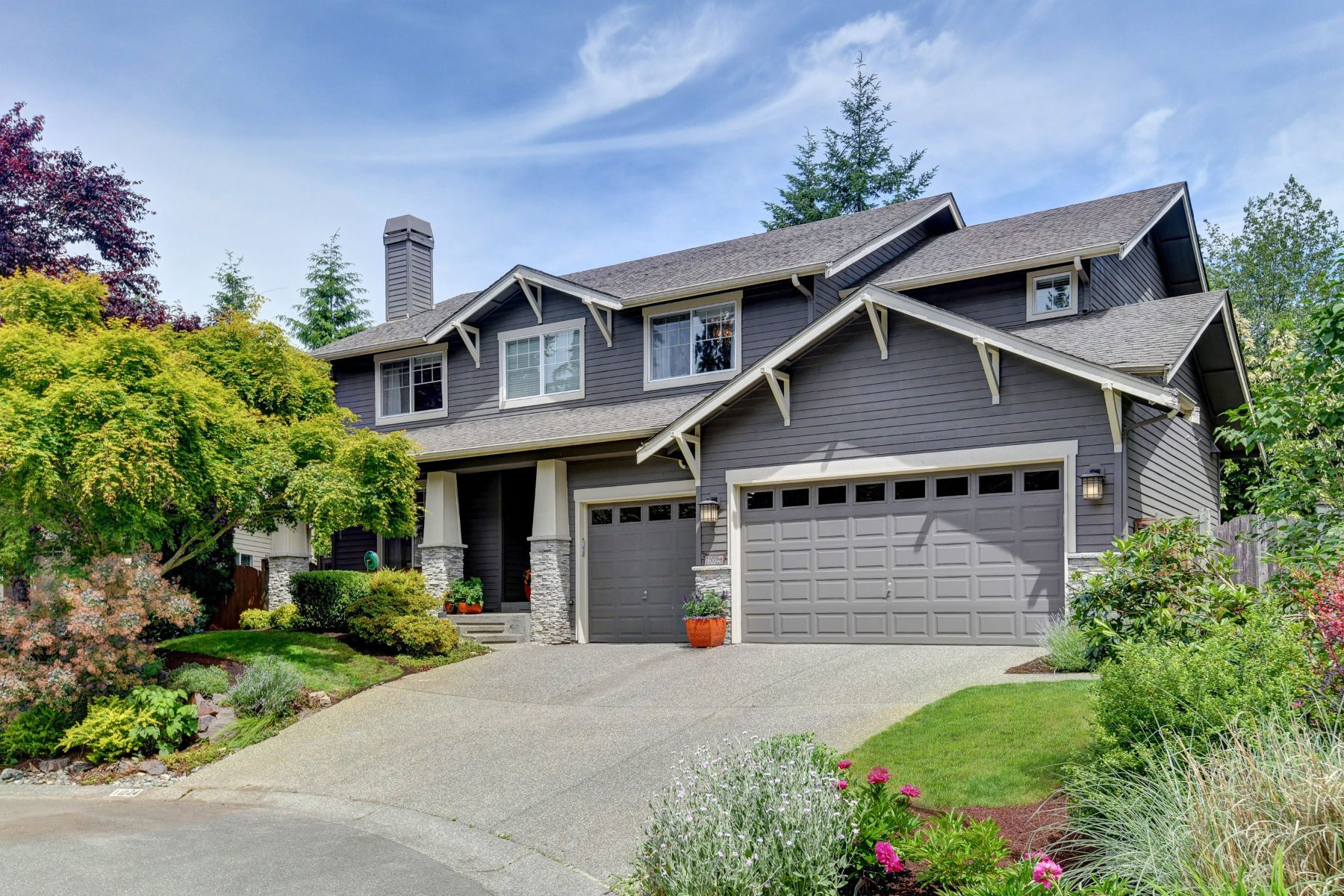 Single Family Homes for Sale at Abbey Road 11024 166th Place NE Redmond, Washington 98052 United States