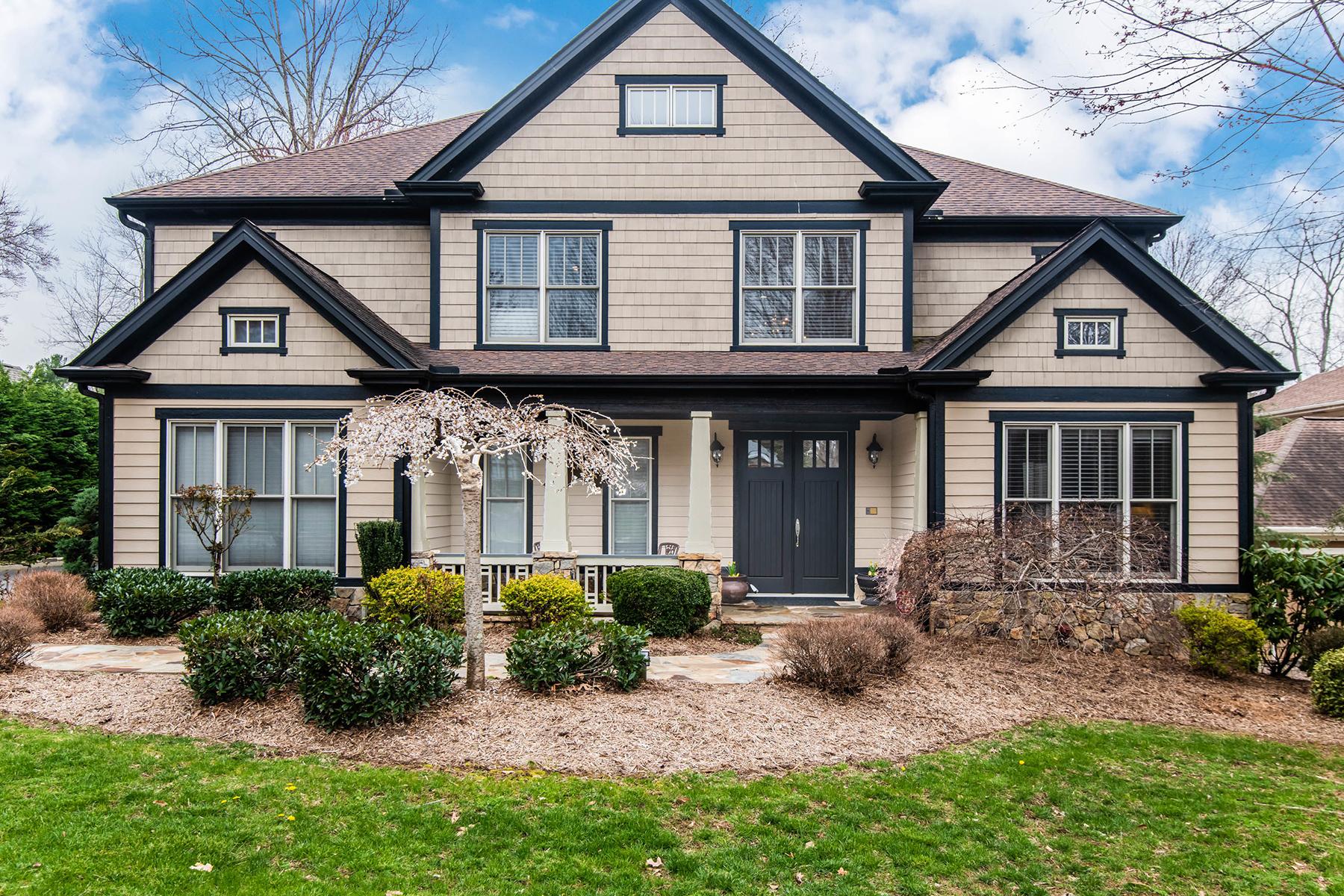 Single Family Homes 为 销售 在 BILTMORE LAKE 1005 Coves Pheasant Court, Biltmore Lake, 北卡罗来纳州 28715 美国