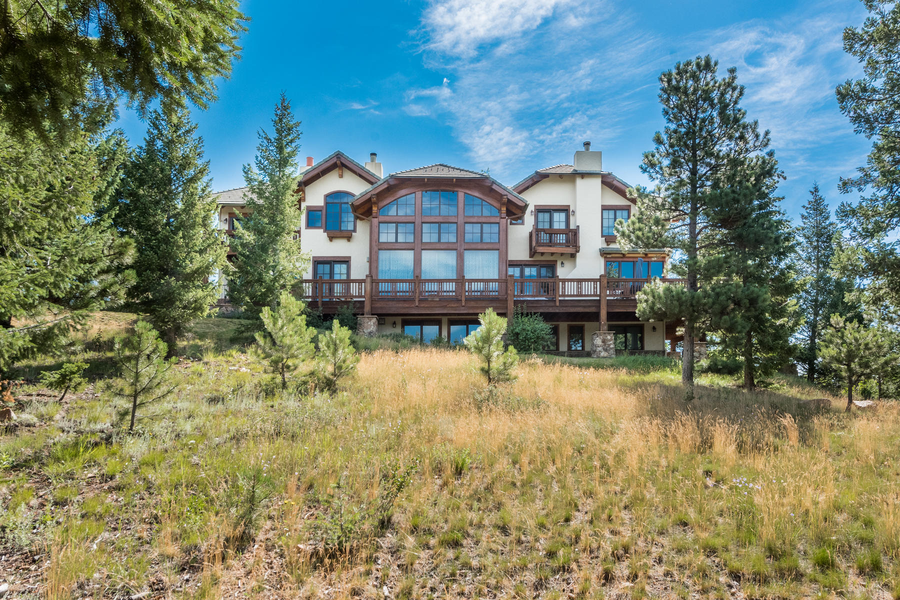 Single Family Home for Active at Aspen Meadows Ranch 35025 Buffalo Park Road Evergreen, Colorado 80439 United States