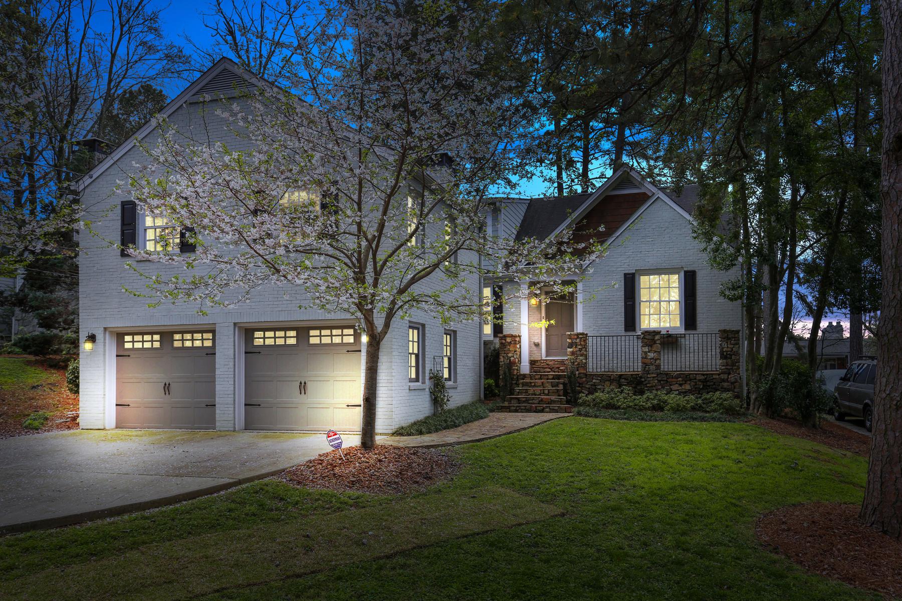 واحد منزل الأسرة للـ Sale في Morningside Living At Its Finest 627 Hillpine Drive NE, Morningside, Atlanta, Georgia, 30306 United States