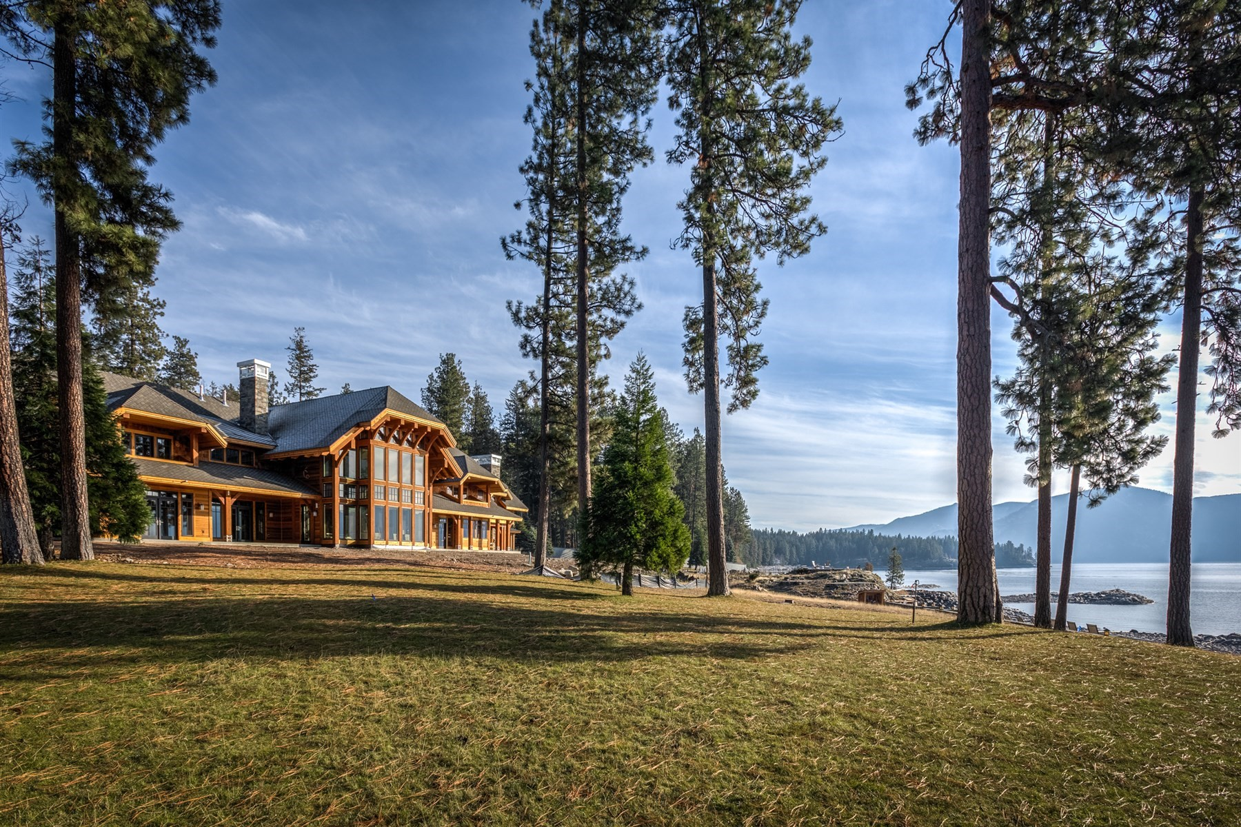Single Family Homes for Sale at Kullyspell Luxury Estate 90 Kullyspell Drive Hope, Idaho 83836 United States