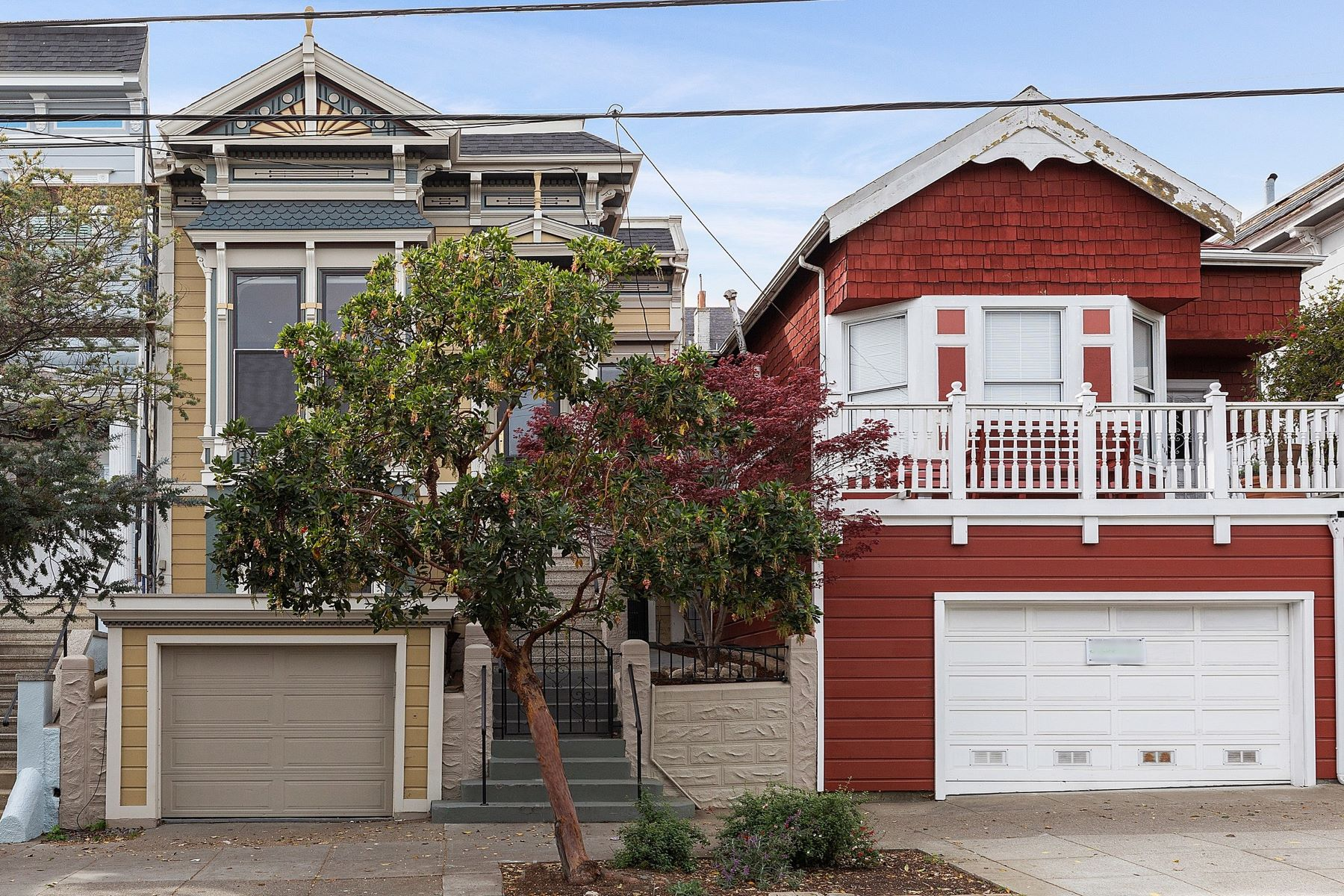 Single Family Homes 为 销售 在 Exquisitely Remodeled Victorian 406 Sanchez Street 旧金山, 加利福尼亚州 94114 美国