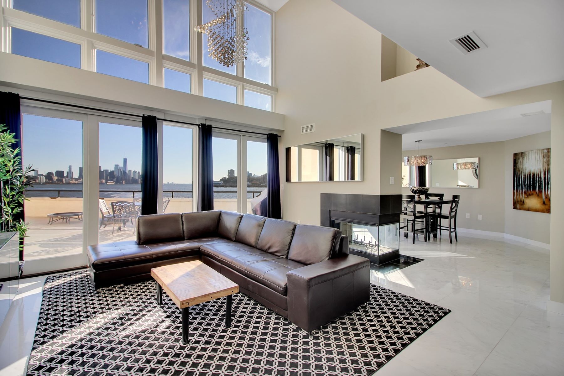 Condominium for Sale at Extremely Rare 3 Bedroom / 3.5 Bath Duplex 600 Harbor Blvd #672, Weehawken, New Jersey 07086 United States