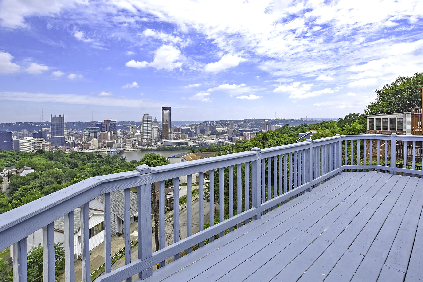 Apartment for Rent at Renovated Mt. Washington Apartment with Panoramic City Views 15 Bailey Avenue Pittsburgh, Pennsylvania 15211 United States