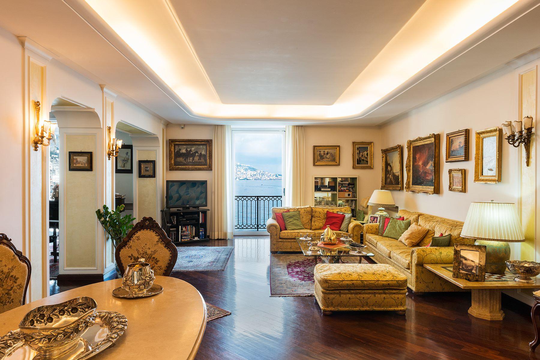 Appartamento per Vendita alle ore Meraviglioso appartamento panoramico tra verde e mare Via Ferdinando Russo Napoli, Napoli 80123 Italia