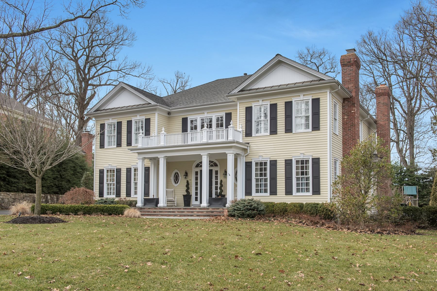 Single Family Home for Sale at This classic Dixon Peer colonial features beautiful architectural details. 72 Fernwood Road, Summit, New Jersey 07901 United States