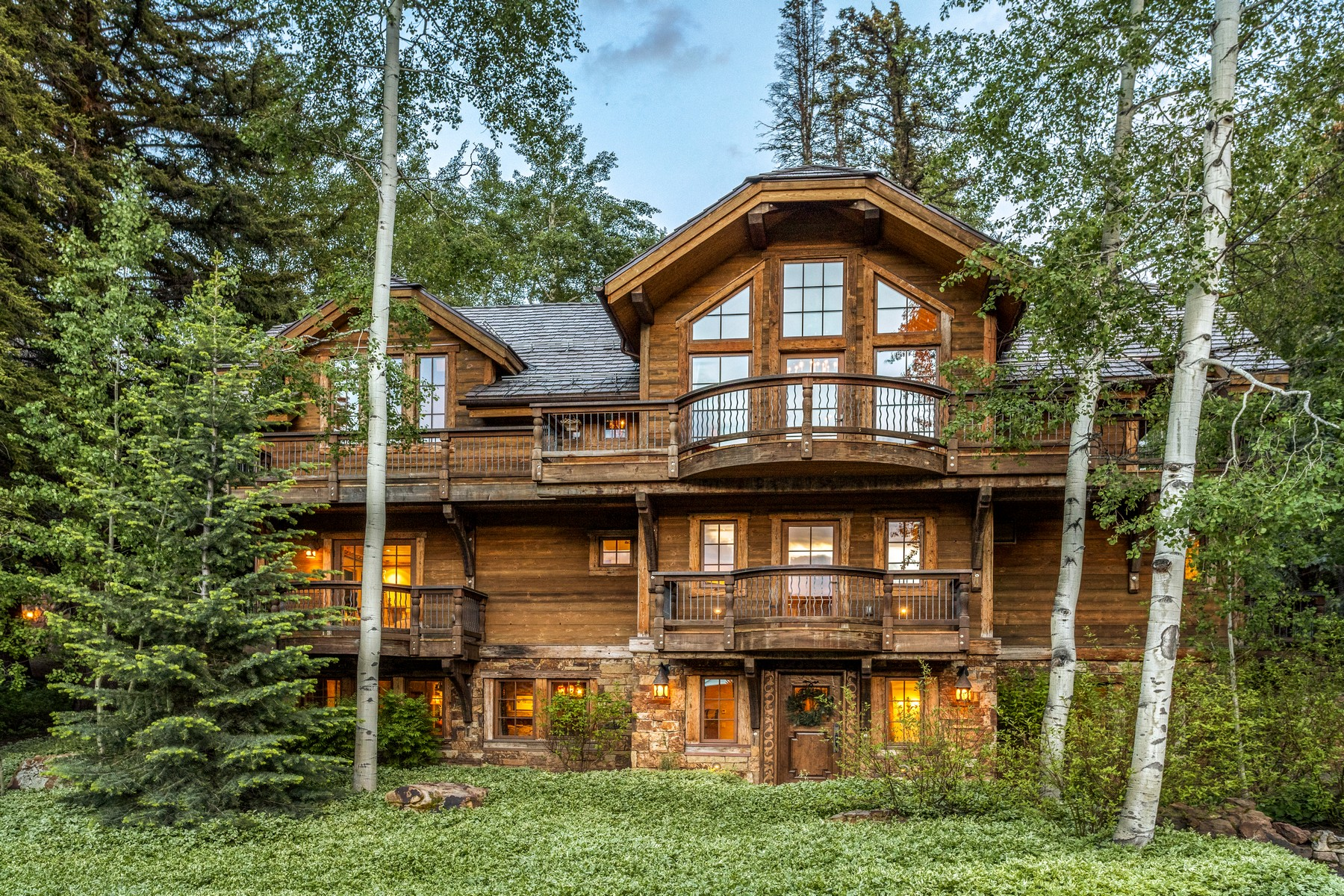 Single Family Homes for Sale at Authentic ski estate, in a magical mountain setting 454 Beaver Dam Road Vail, Colorado 81657 United States
