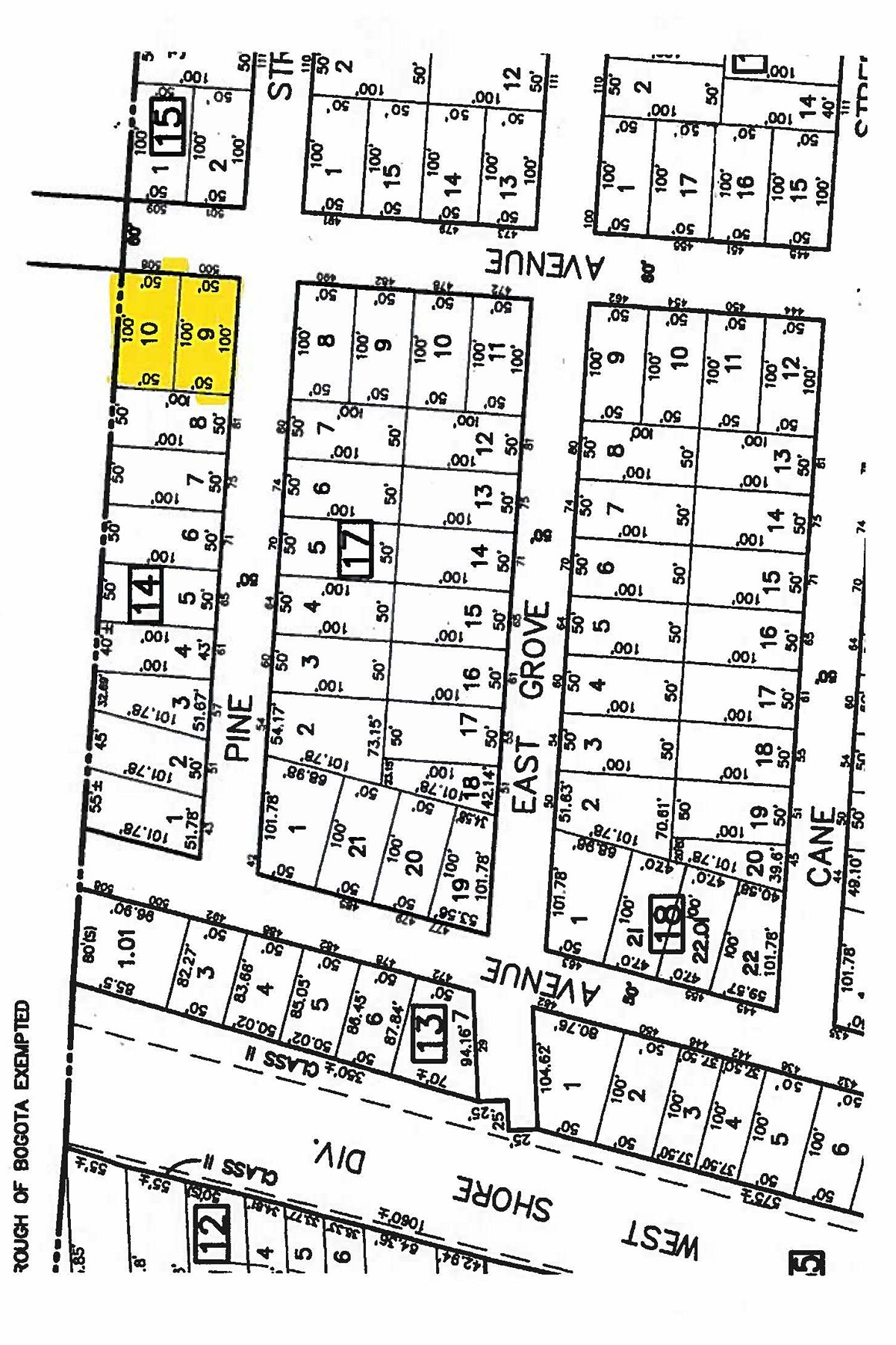 Land for Active at Flat Property 500 Palisade Ave Bogota, New Jersey 07603 United States